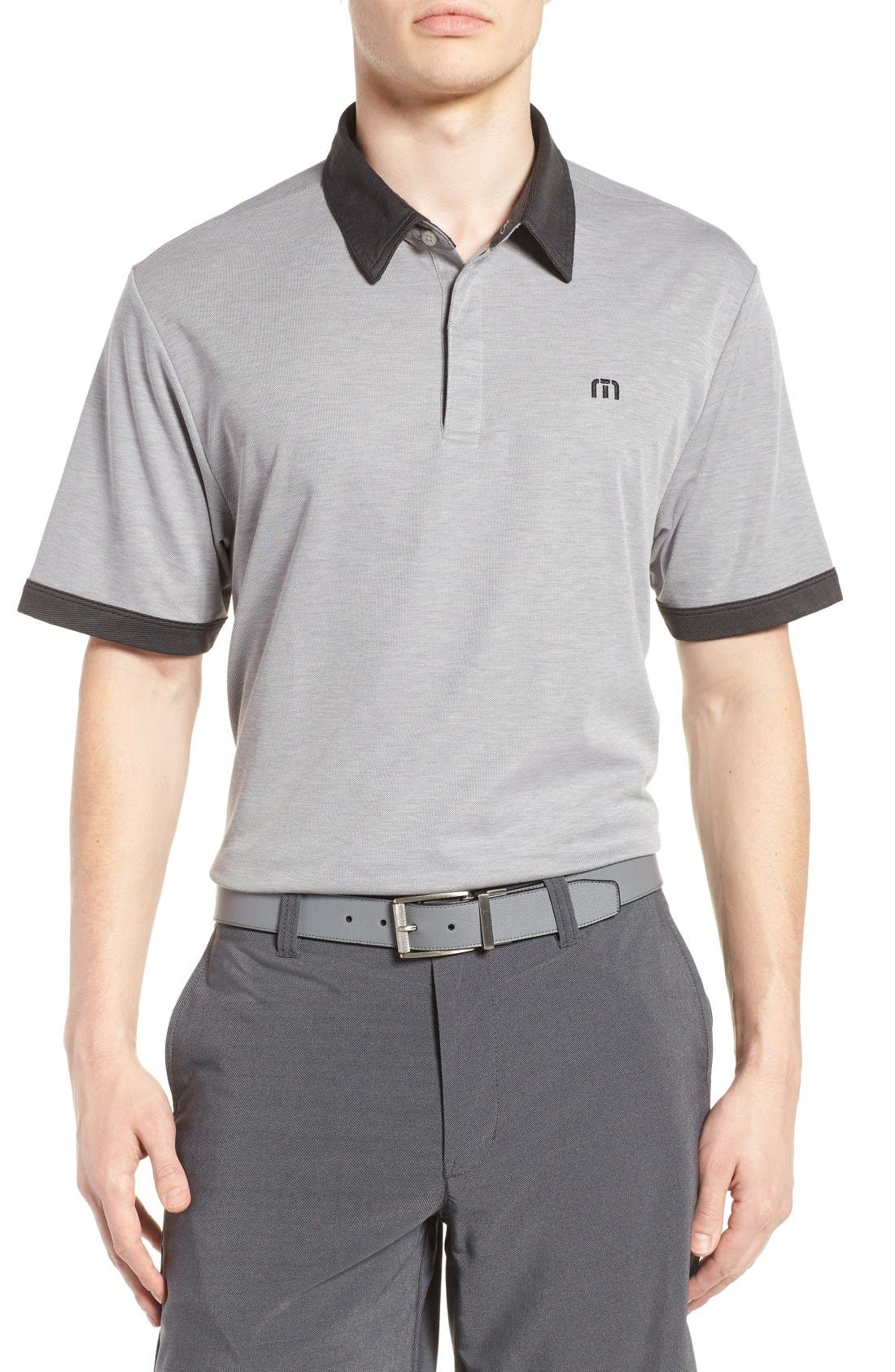 Travis Mathew Hills Piqué Polo