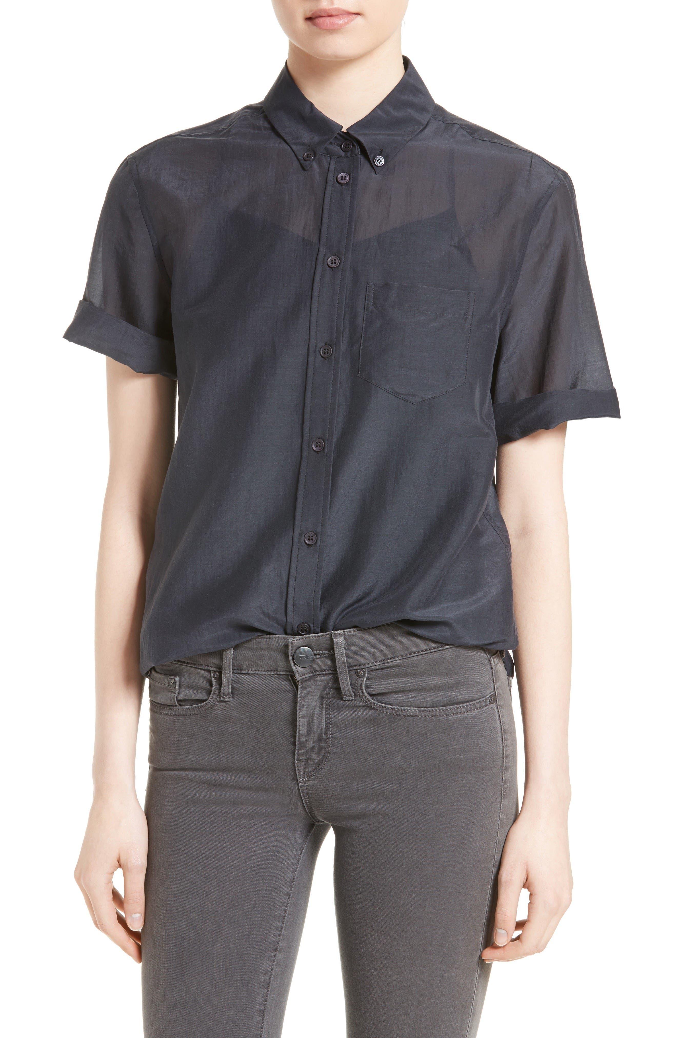 Equipment Betty Cotton & Silk Shirt