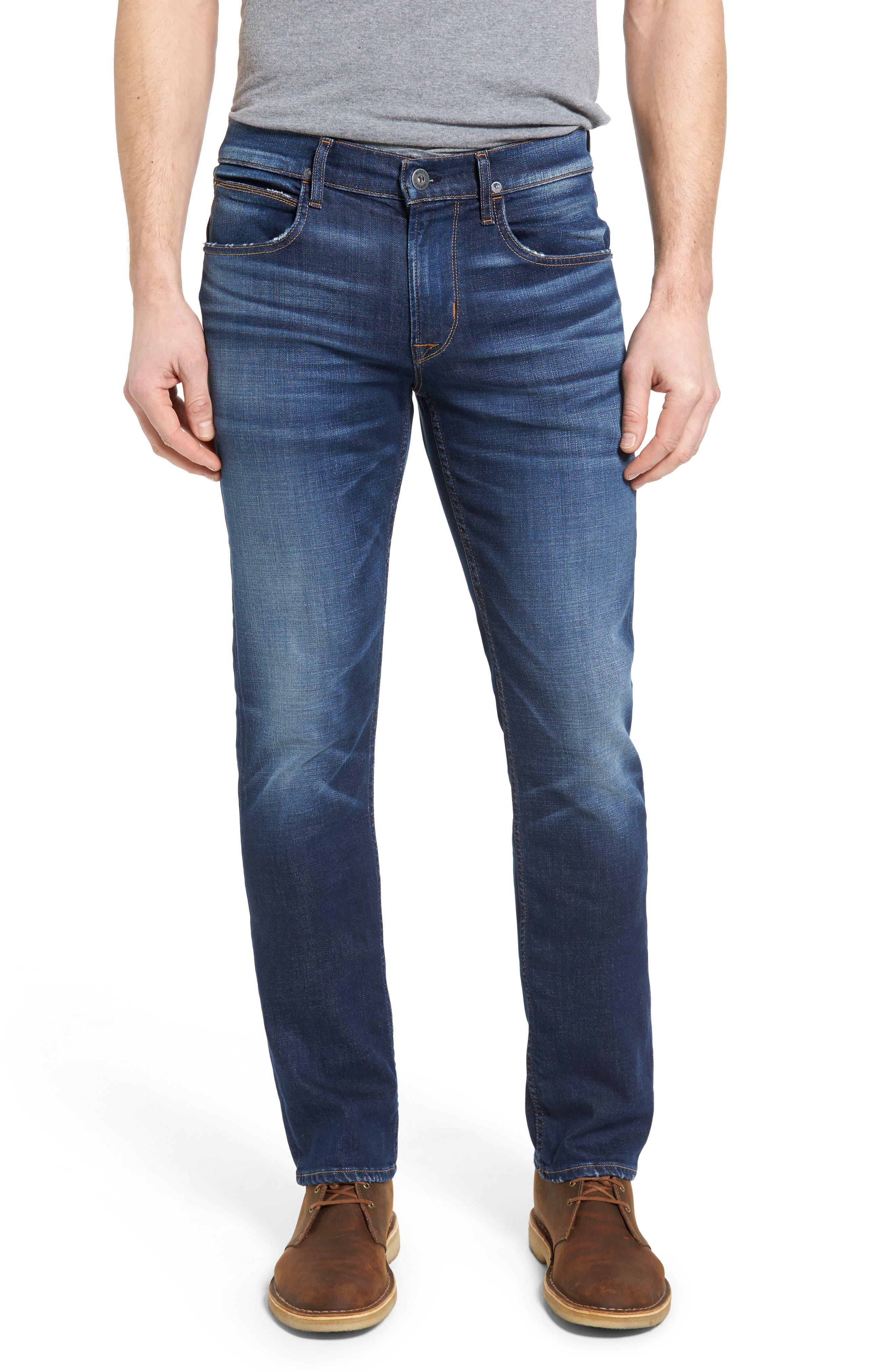 Hudson Jeans Byron Slim Straight Leg Jeans (Genuine)