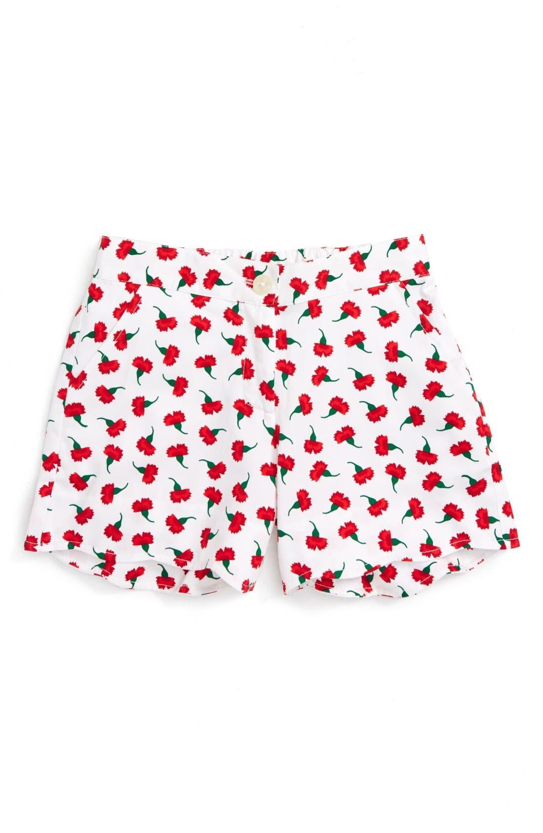 OSCAR DE LA RENTA Carnation Bud Shorts