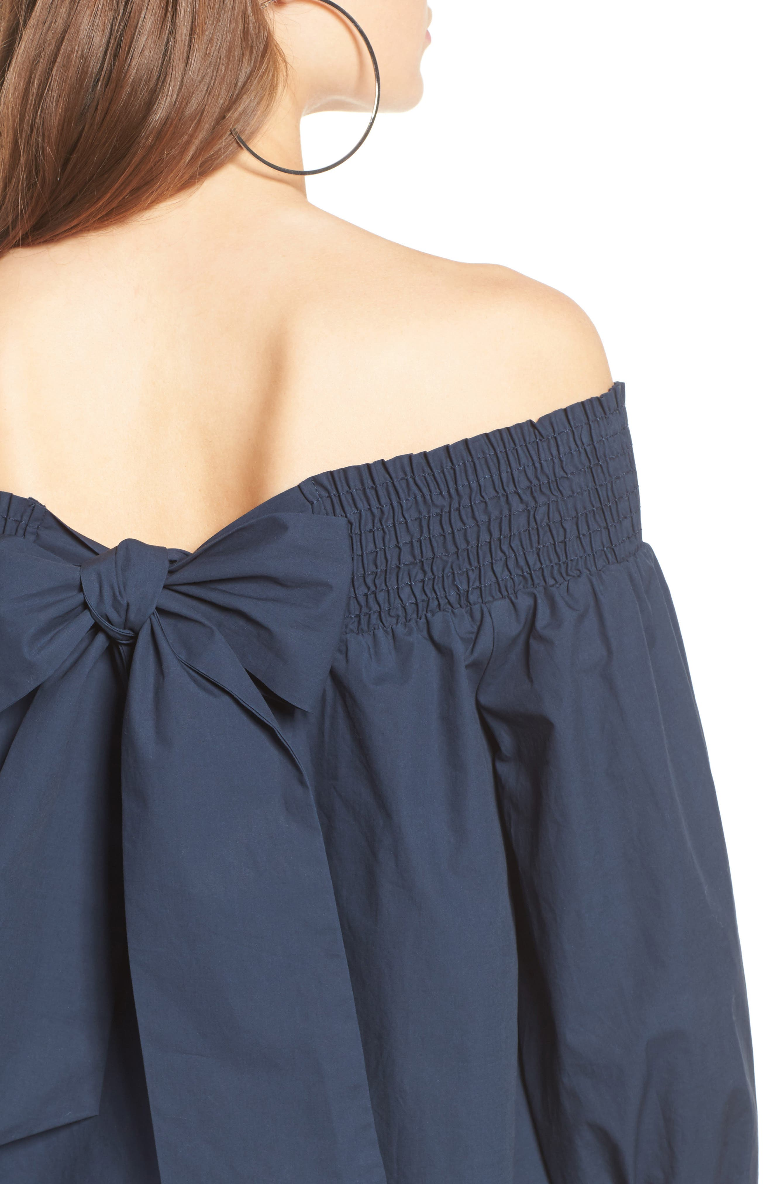 Alternate Image 5  - Soprano Bow Off-the-Shoulder Top
