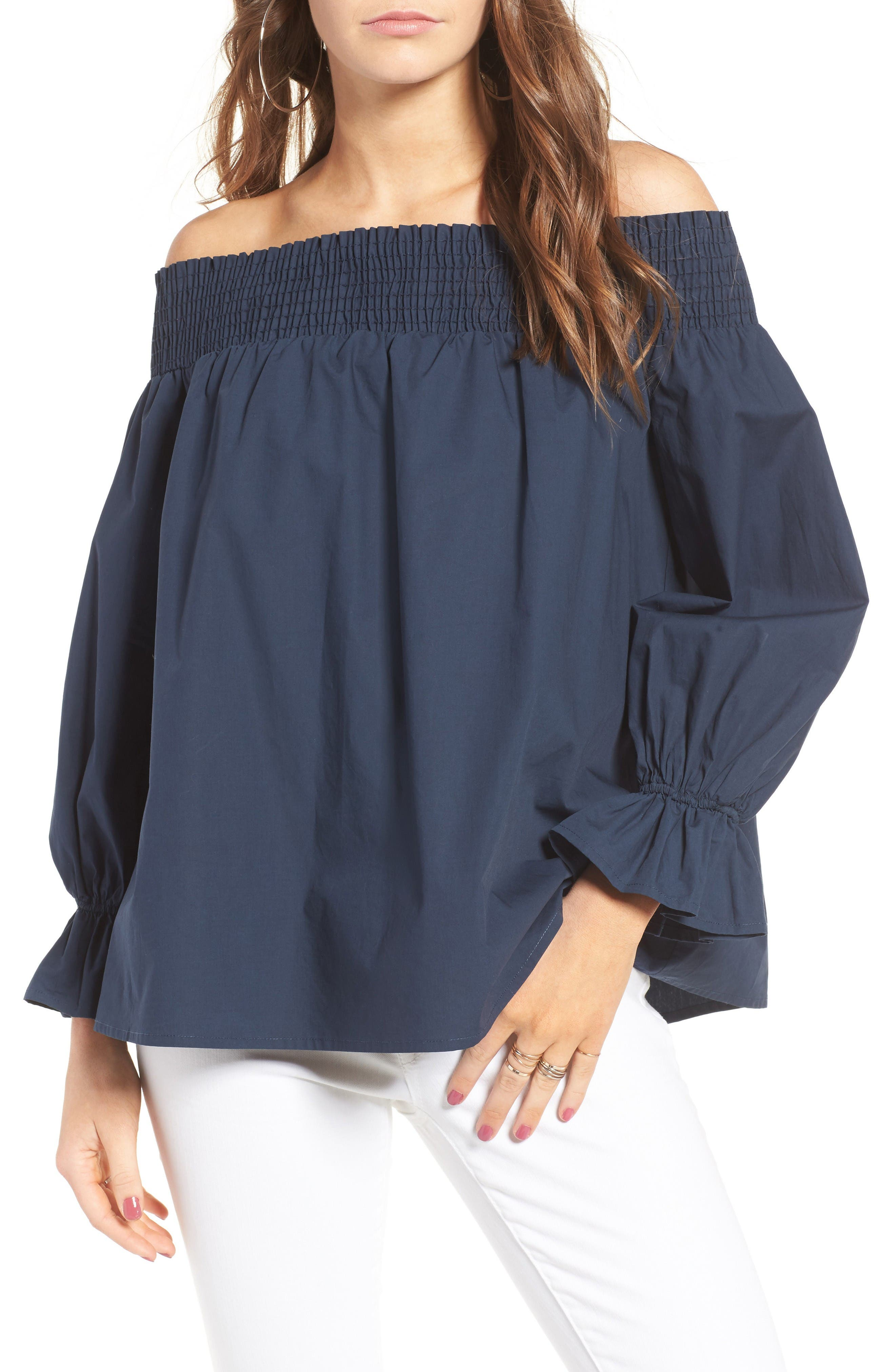 Alternate Image 3  - Soprano Bow Off-the-Shoulder Top
