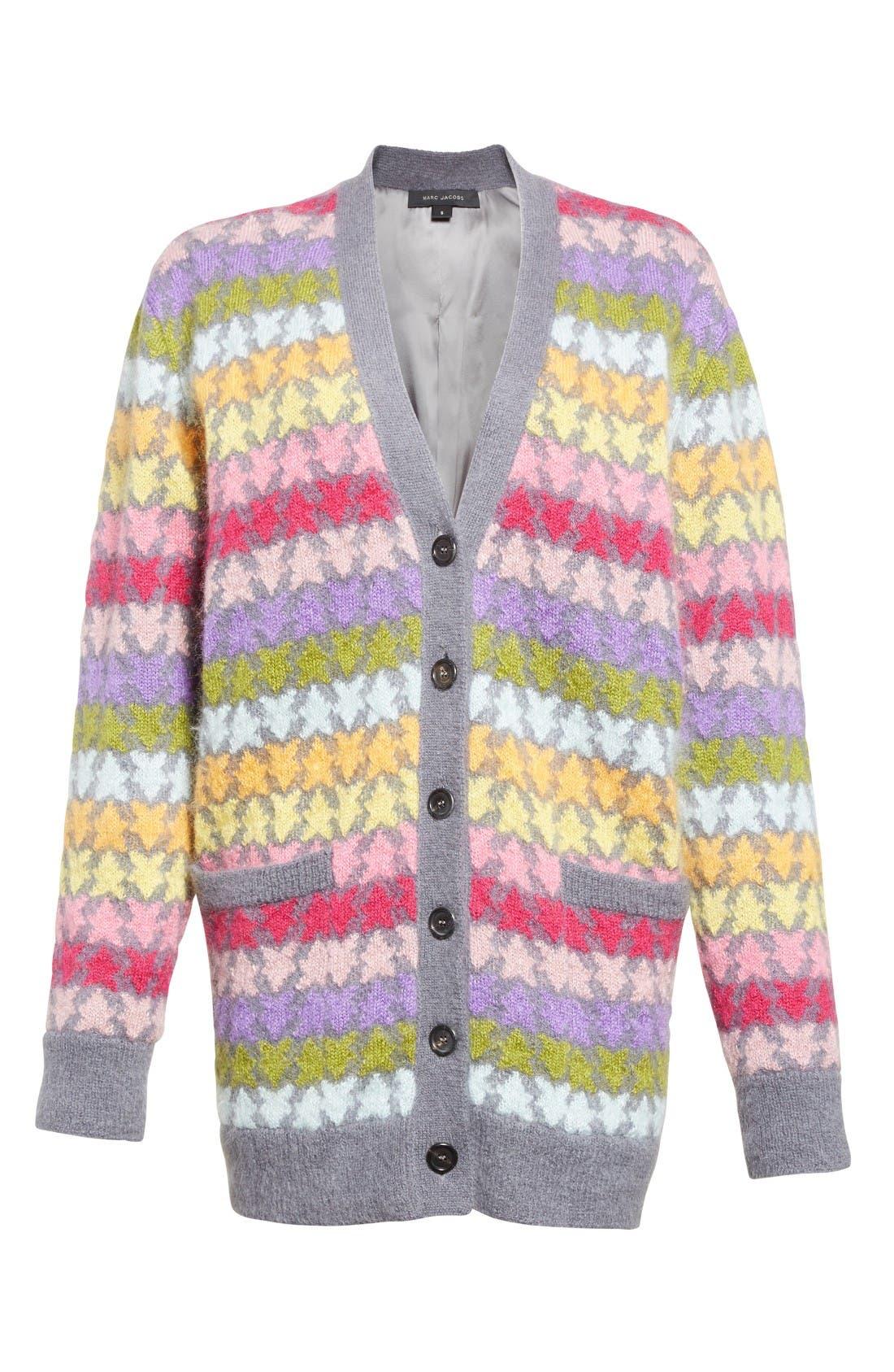 Alternate Image 4  - MARC JACOBS Star Knit Mohair Blend Cardigan