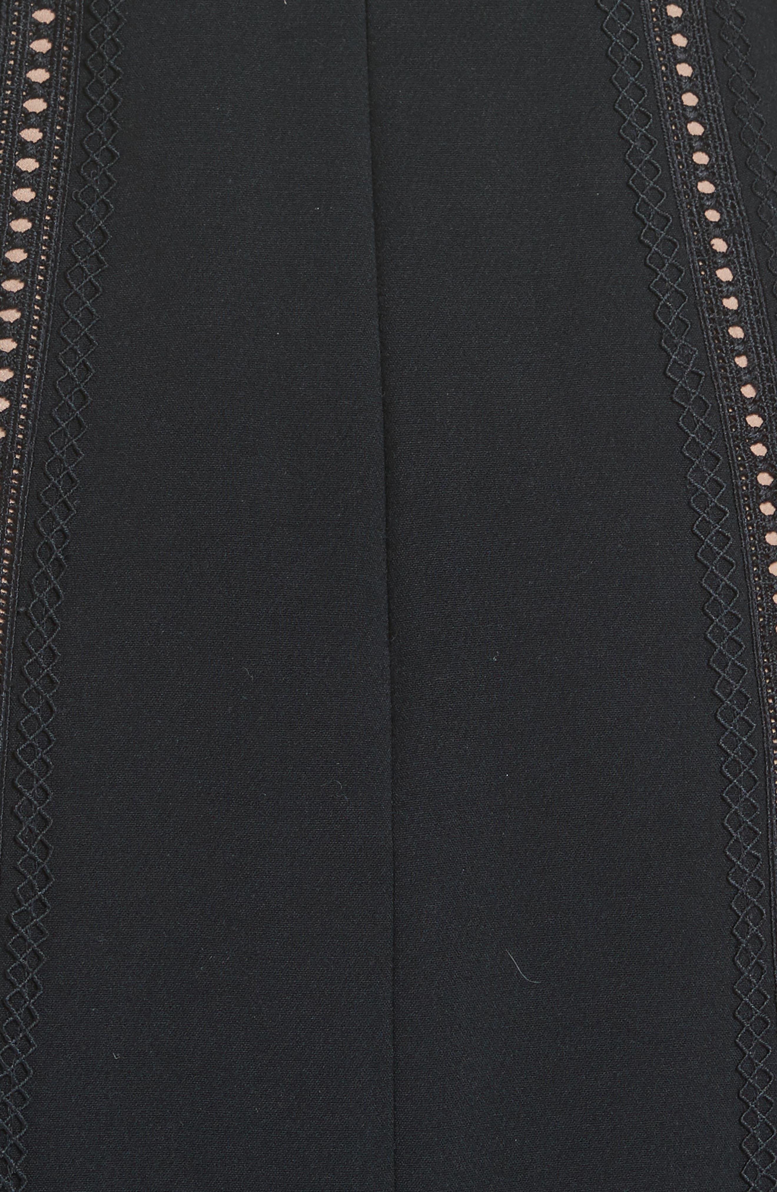 Alternate Image 5  - Self-Portrait Hinkley Cold Shoulder Midi Dress