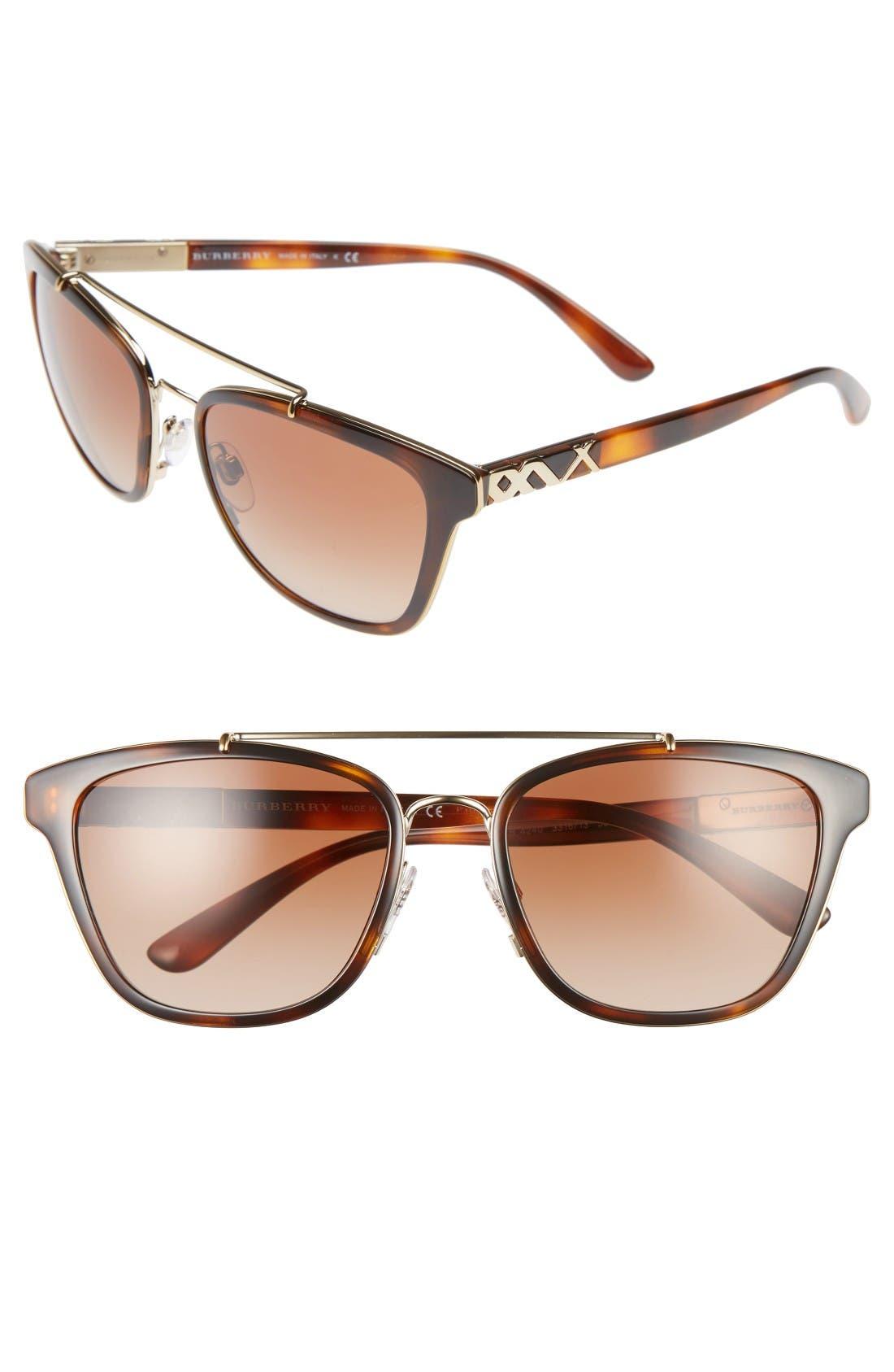 Burberry 56mm Sunglasses