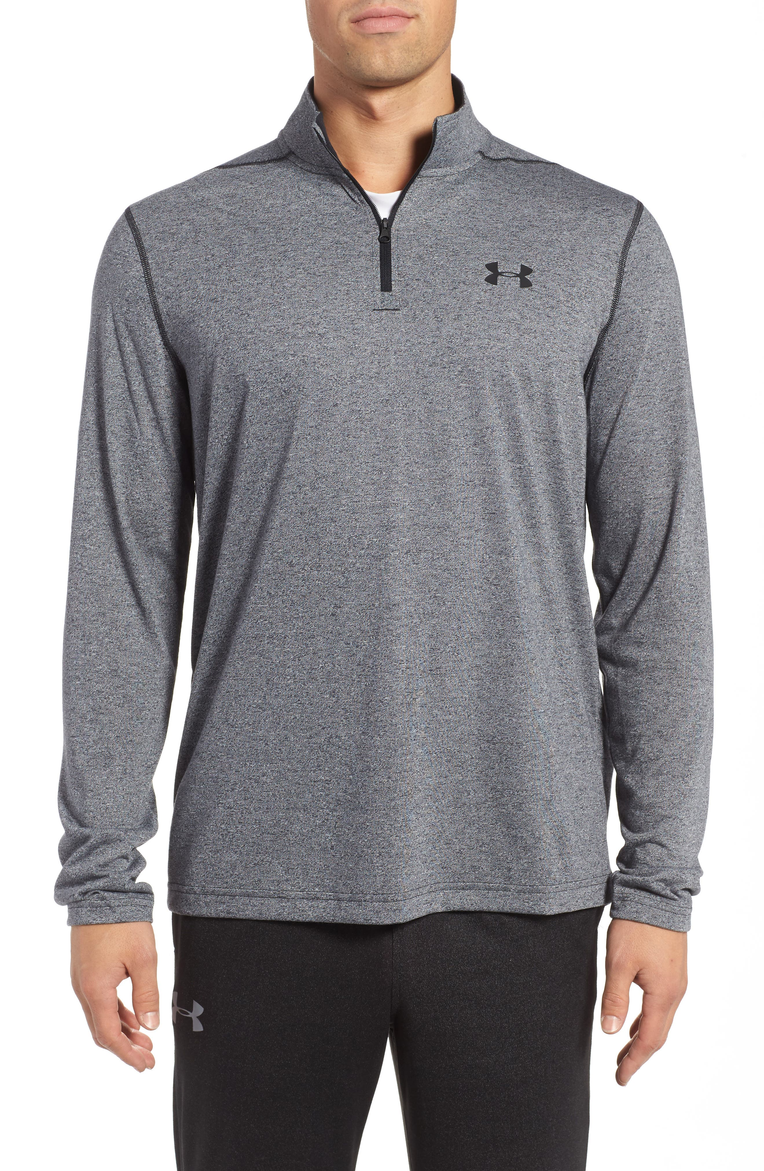Under Armour Threadborne Quarter-Zip Performance Shirt