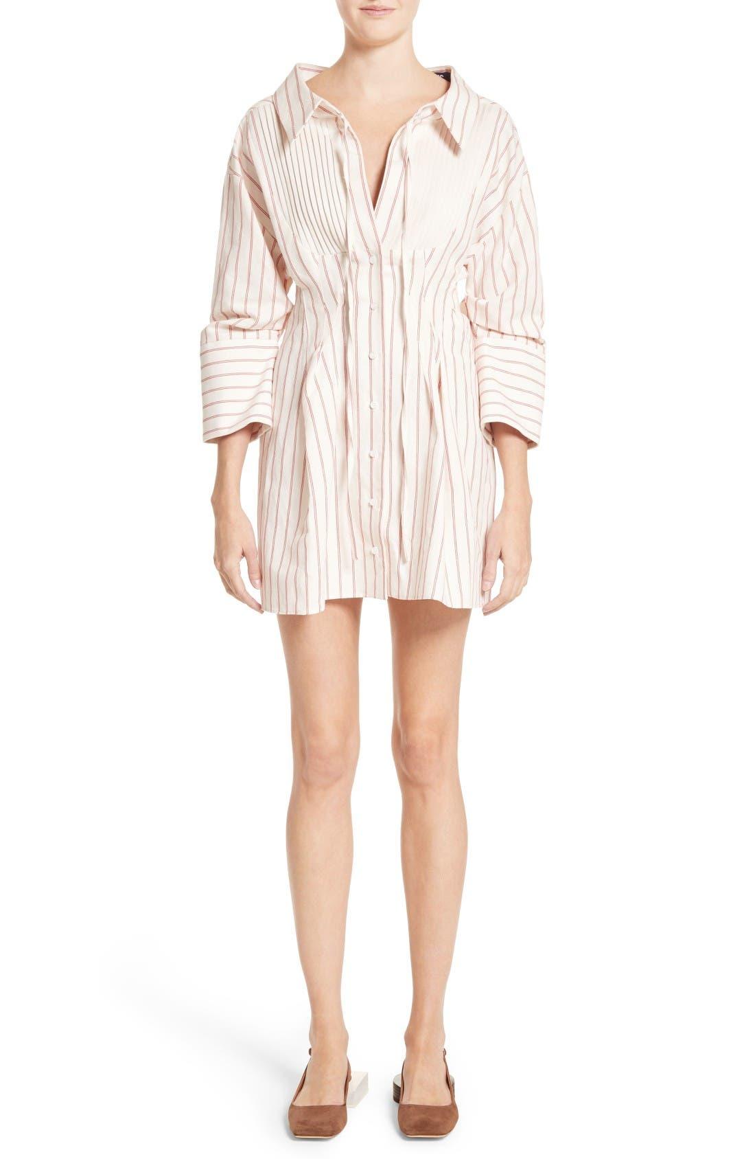 Alternate Image 1 Selected - Jacquemus Arlesienne Shirtdress
