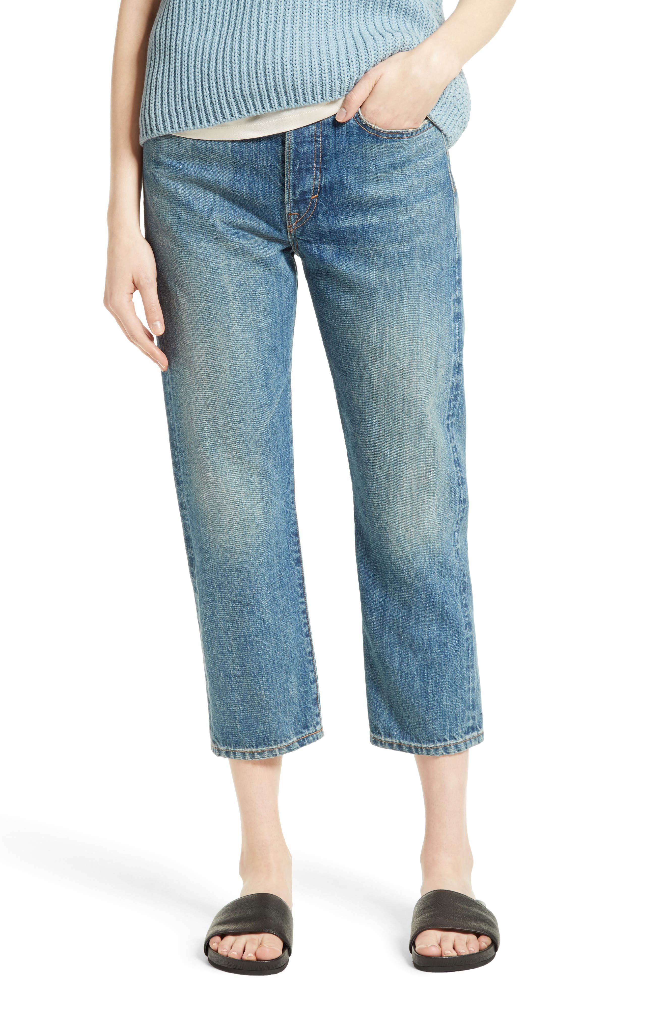 Vince Union Slouch Crop Jeans