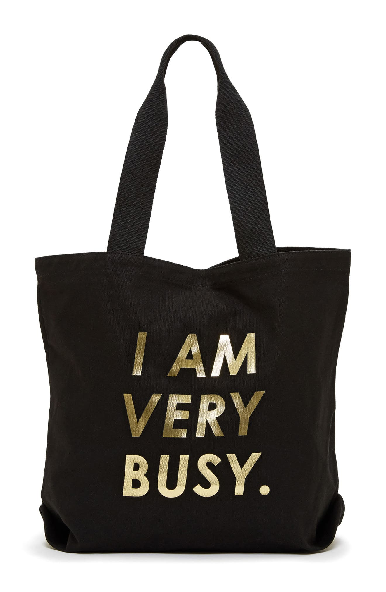 Alternate Image 1 Selected - ban.do I Am Very Busy Canvas Tote