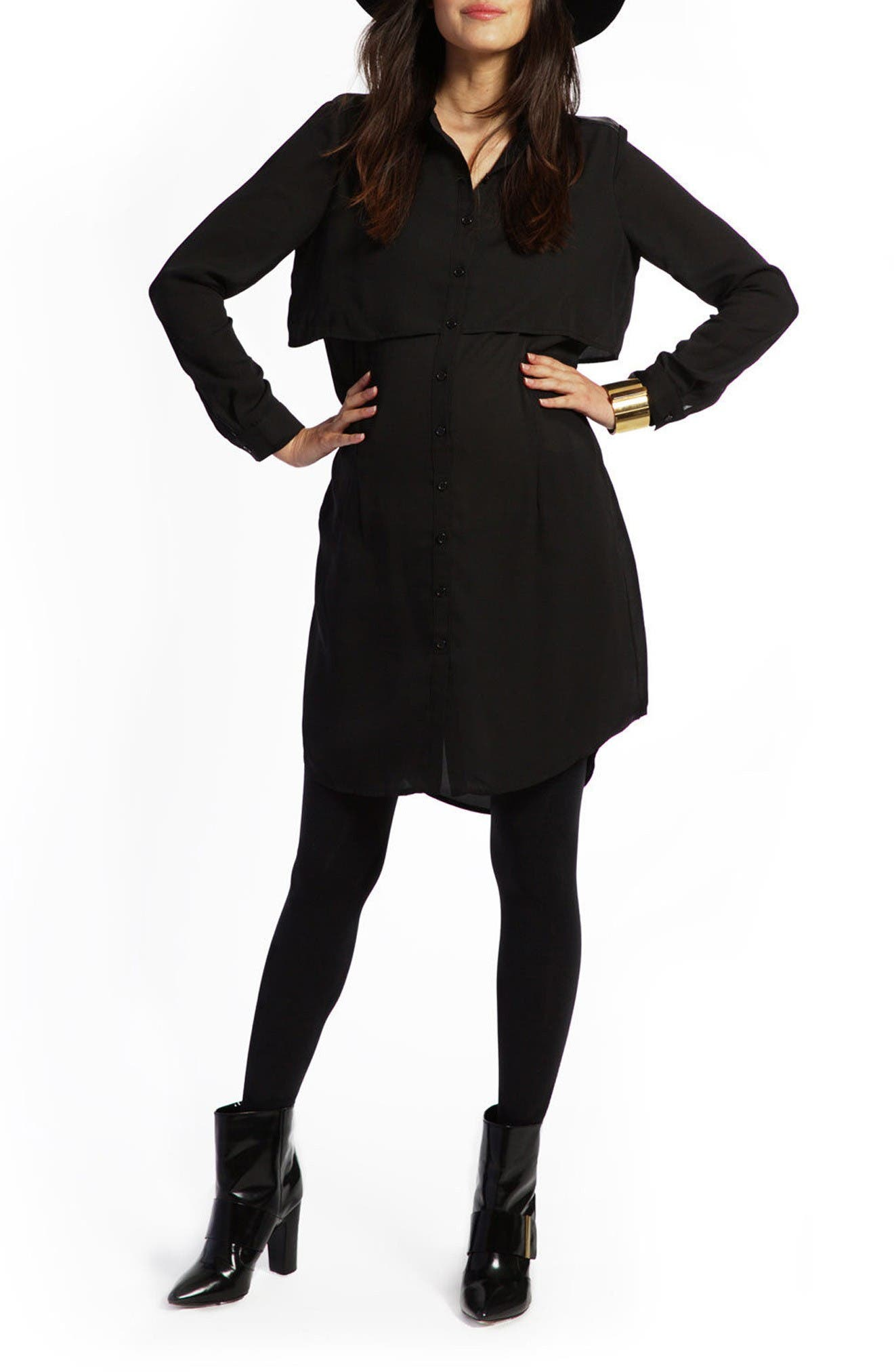 LOYAL HANA Sky Maternity/Nursing Dress