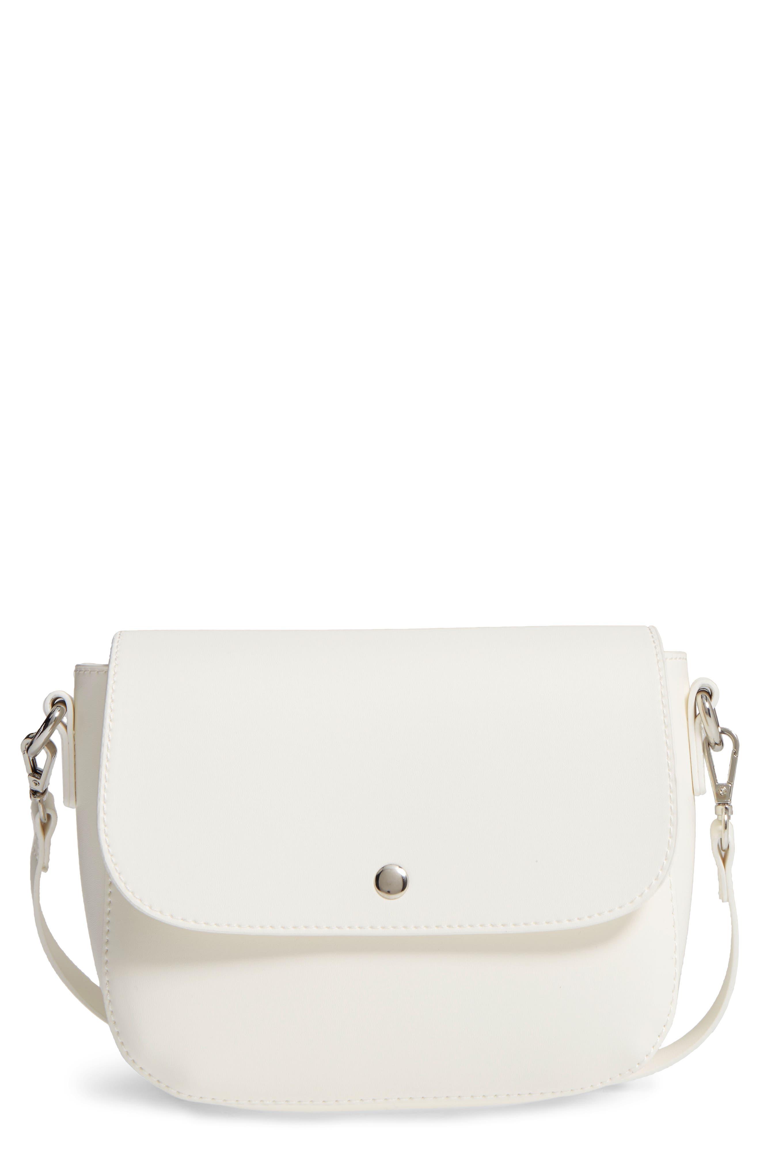 Main Image - BP. Minimal Faux Leather Crossbody Bag
