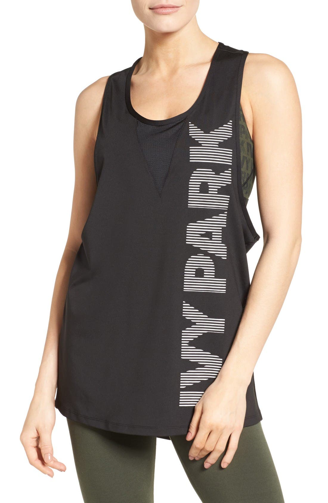 IVY PARK Silicone Logo Tank