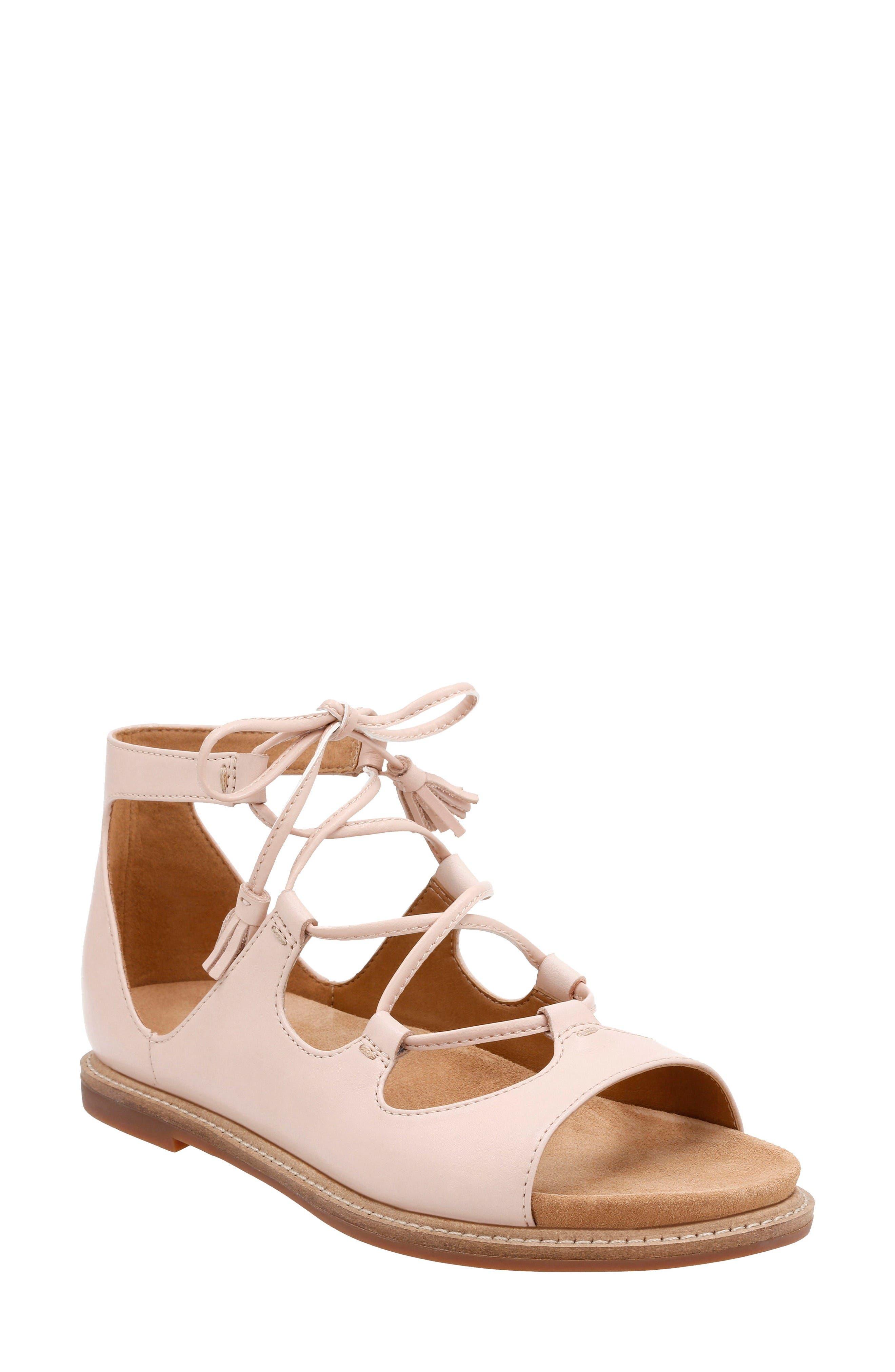Clarks® Corsio Dallas Ghillie Sandal (Women)