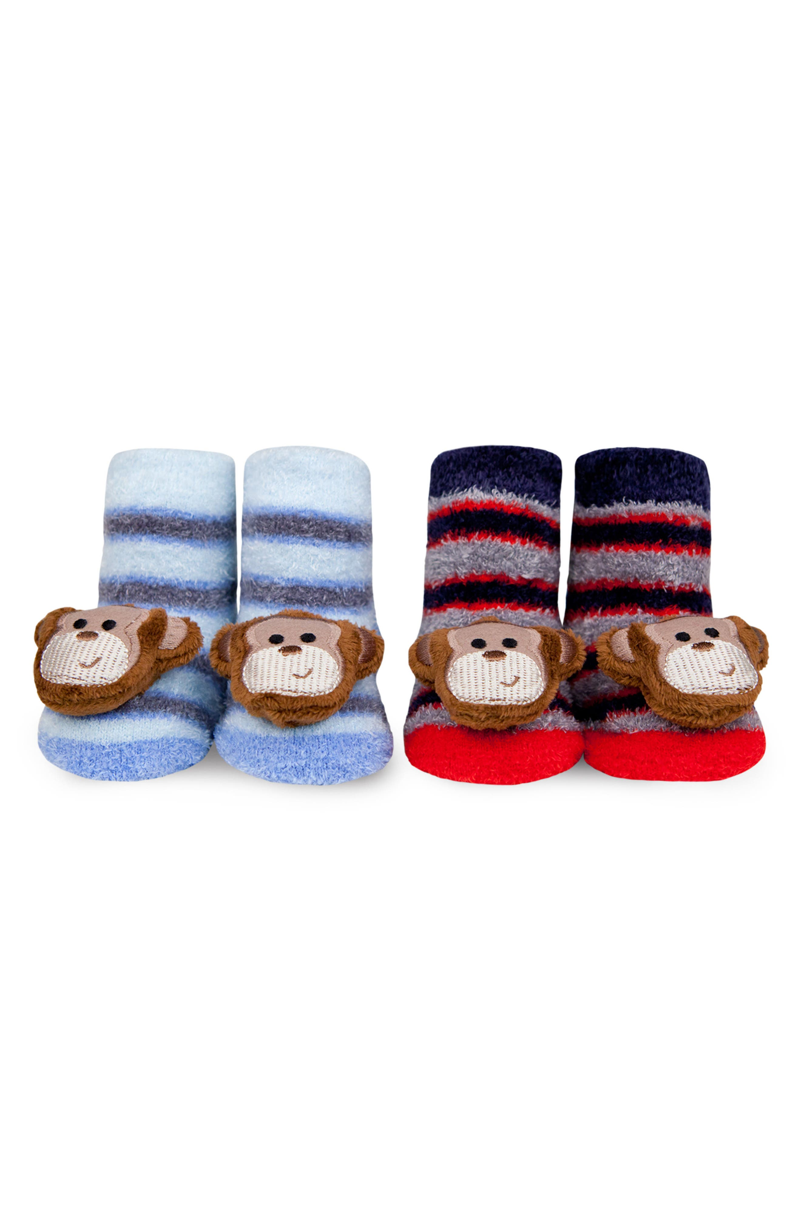 Waddle & Friends 2-Pack Animal Rattle Socks (Baby)