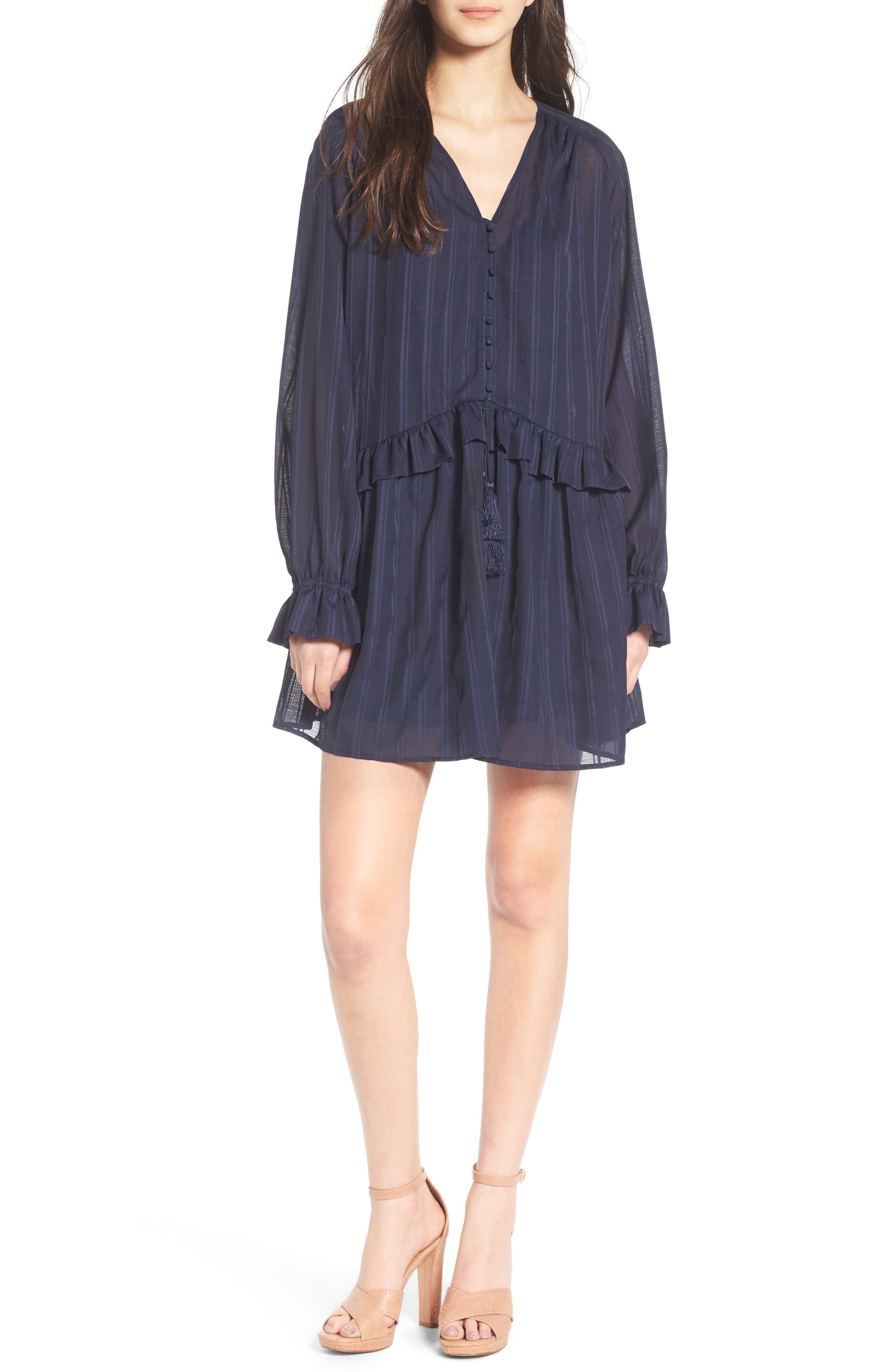 Line & Dot Desi Flounce Dress