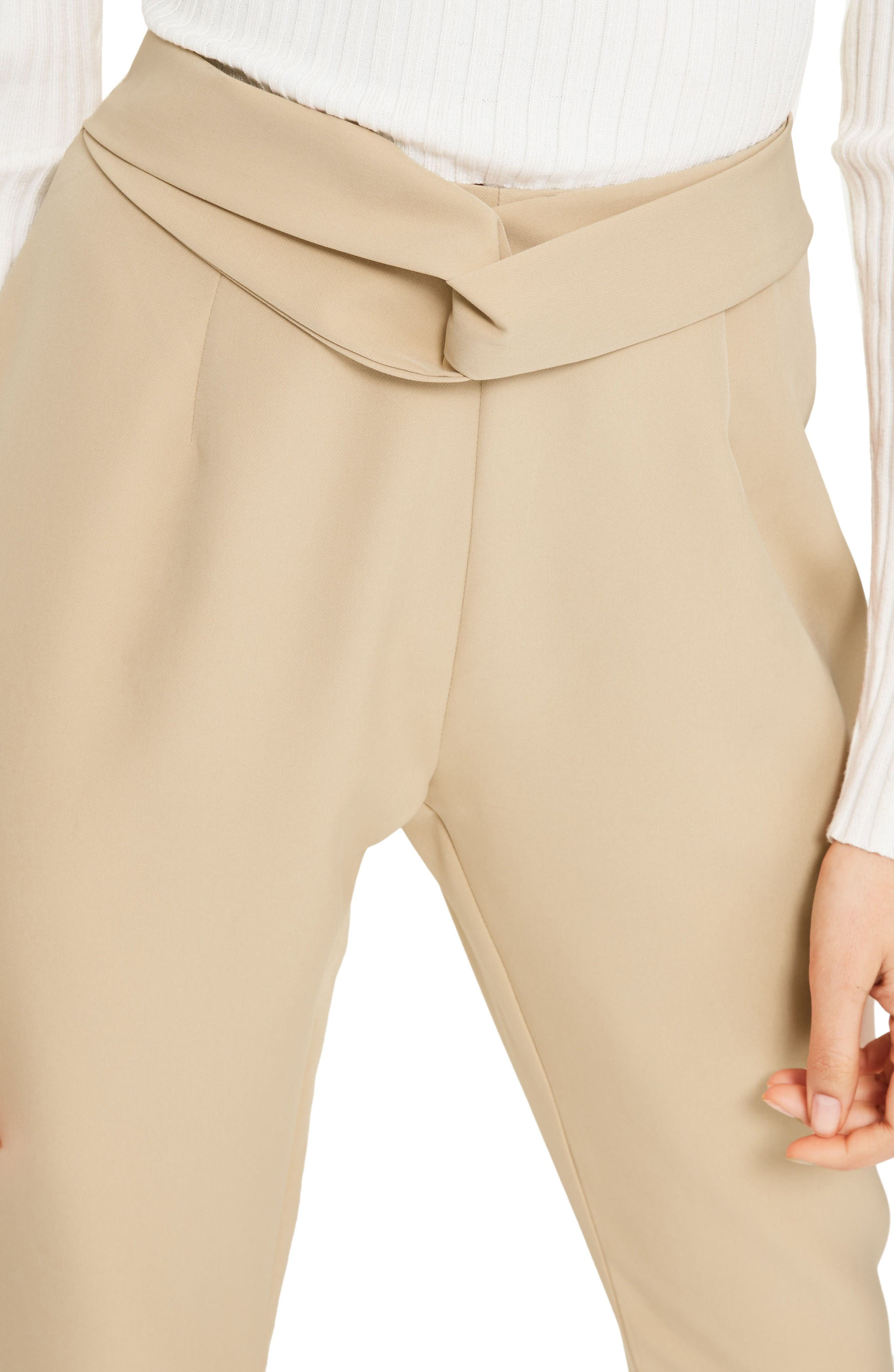 Alternate Image 3  - Missguided Cigarette Trousers
