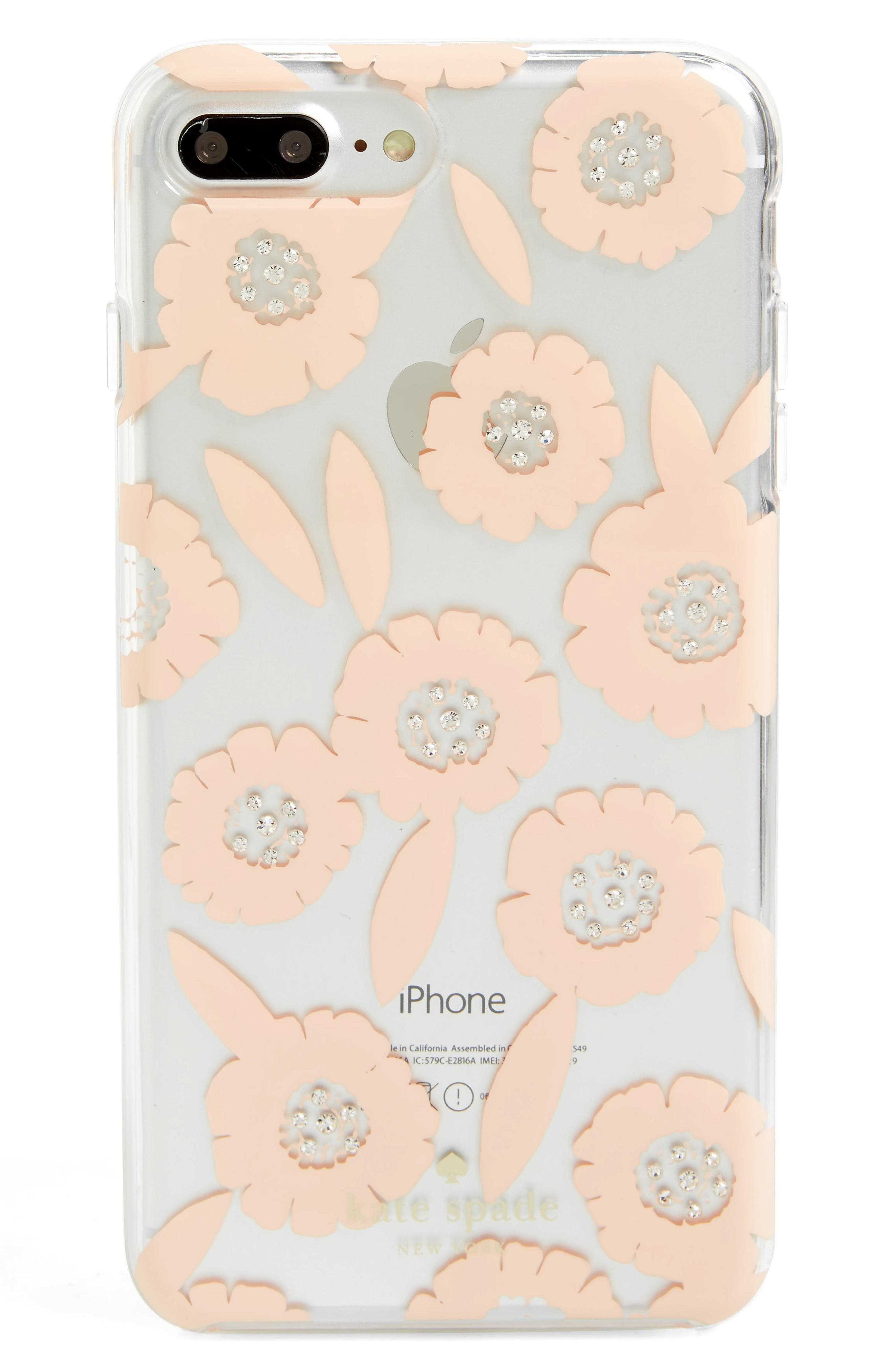 kate spade new york jeweled majorelle iPhone 7 & 7 Plus case