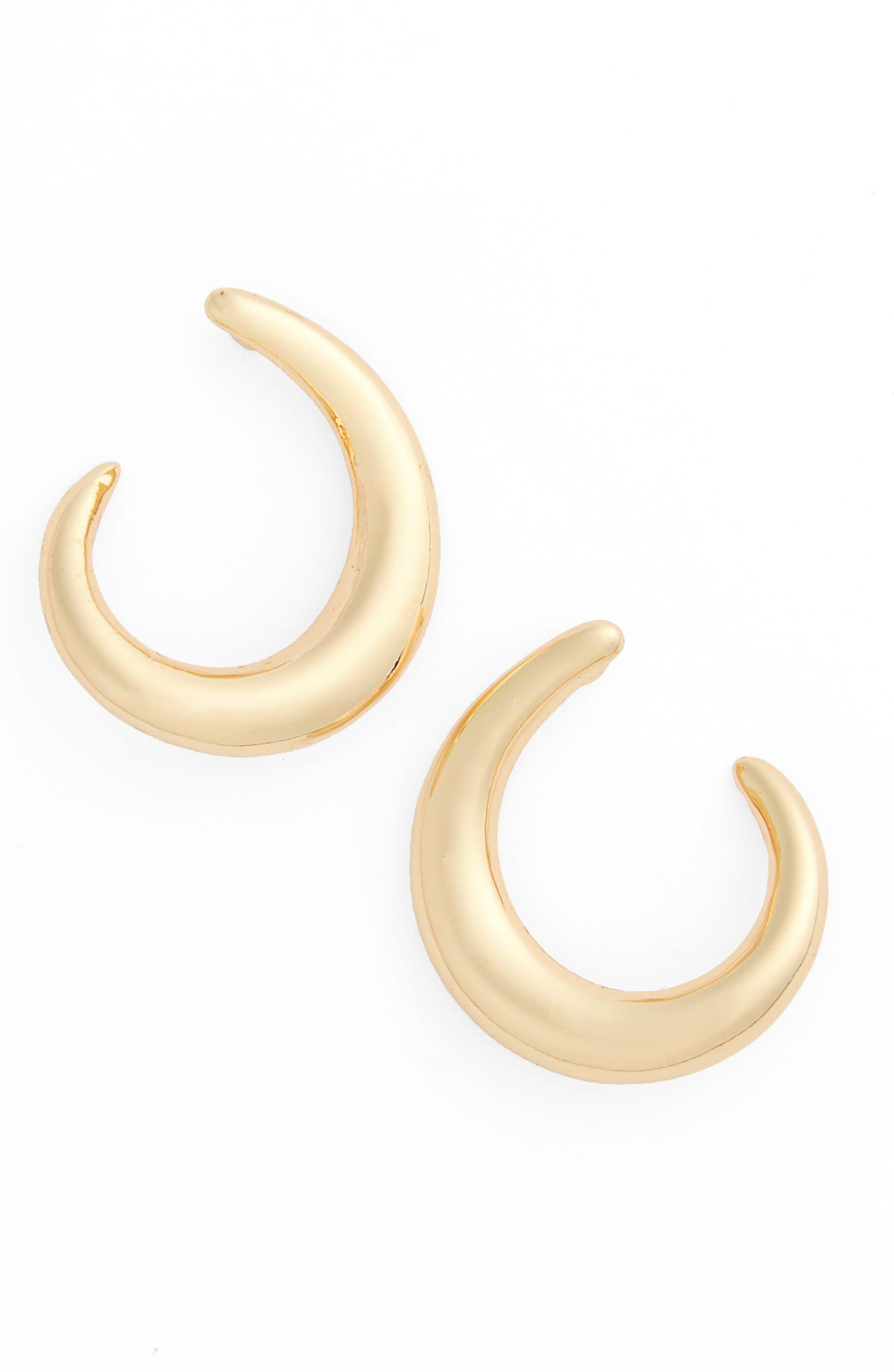 nordstrom half circle stud earrings nordstrom