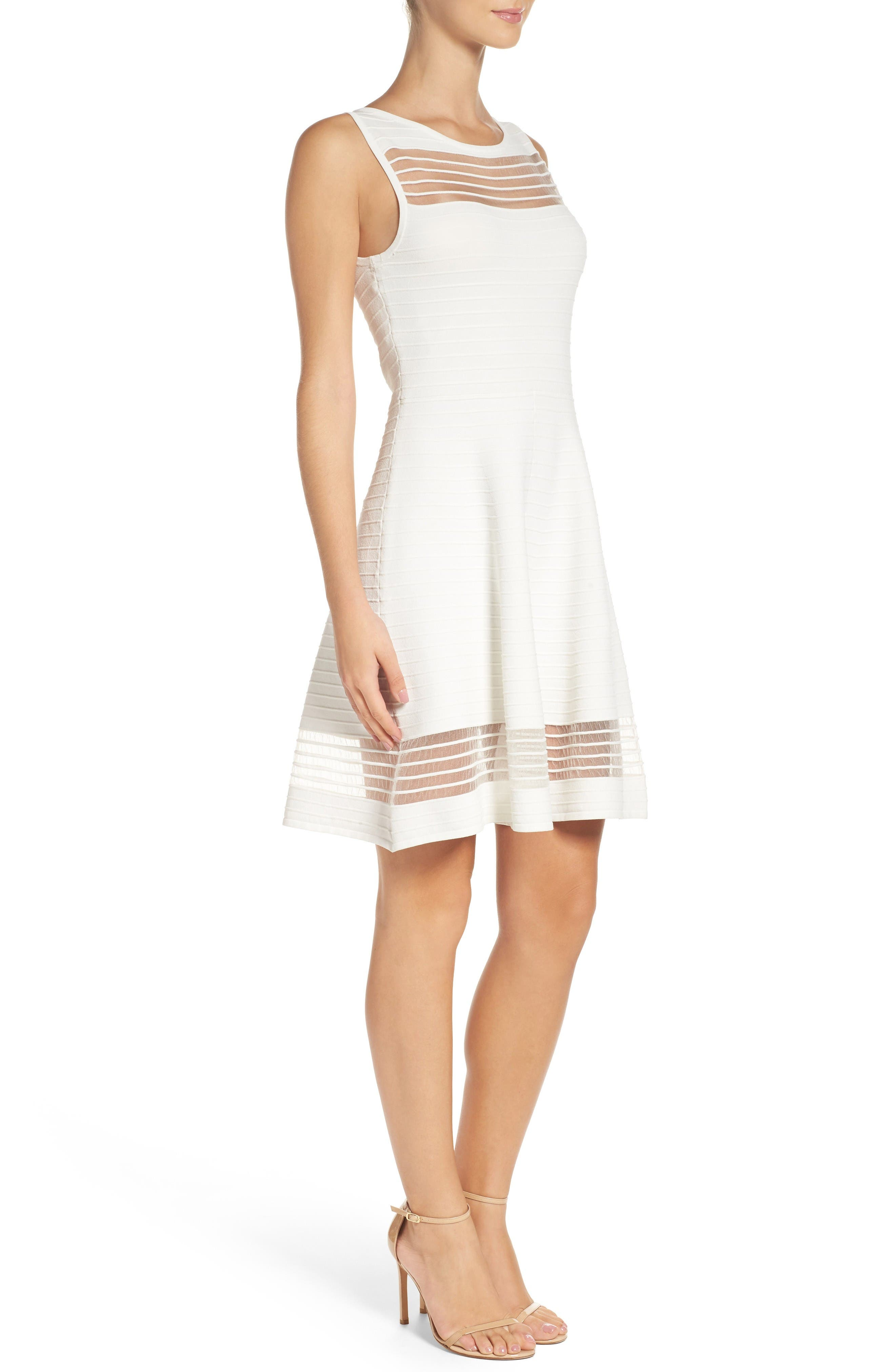 Alternate Image 3  - French Connection Tobey Crepe Fit & Flare Dress