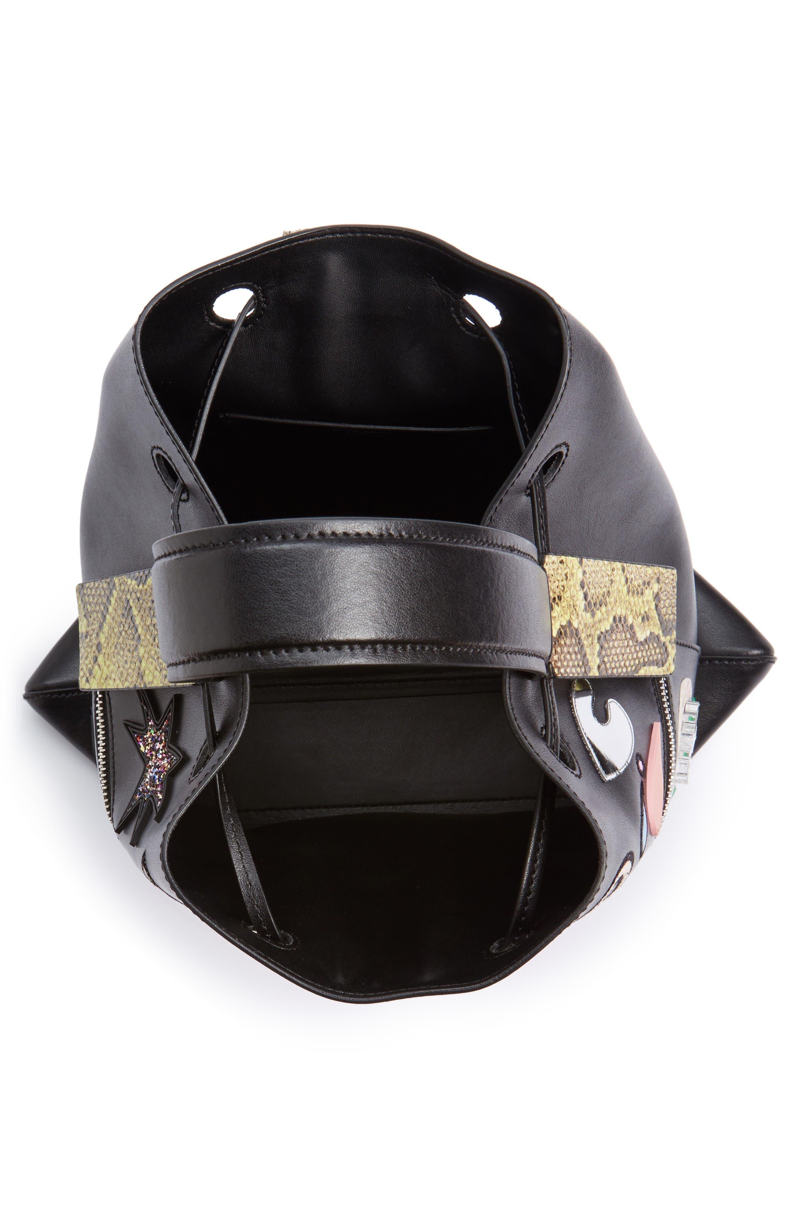 Alternate Image 4  - KENZO Rizo Badge Leather Backpack