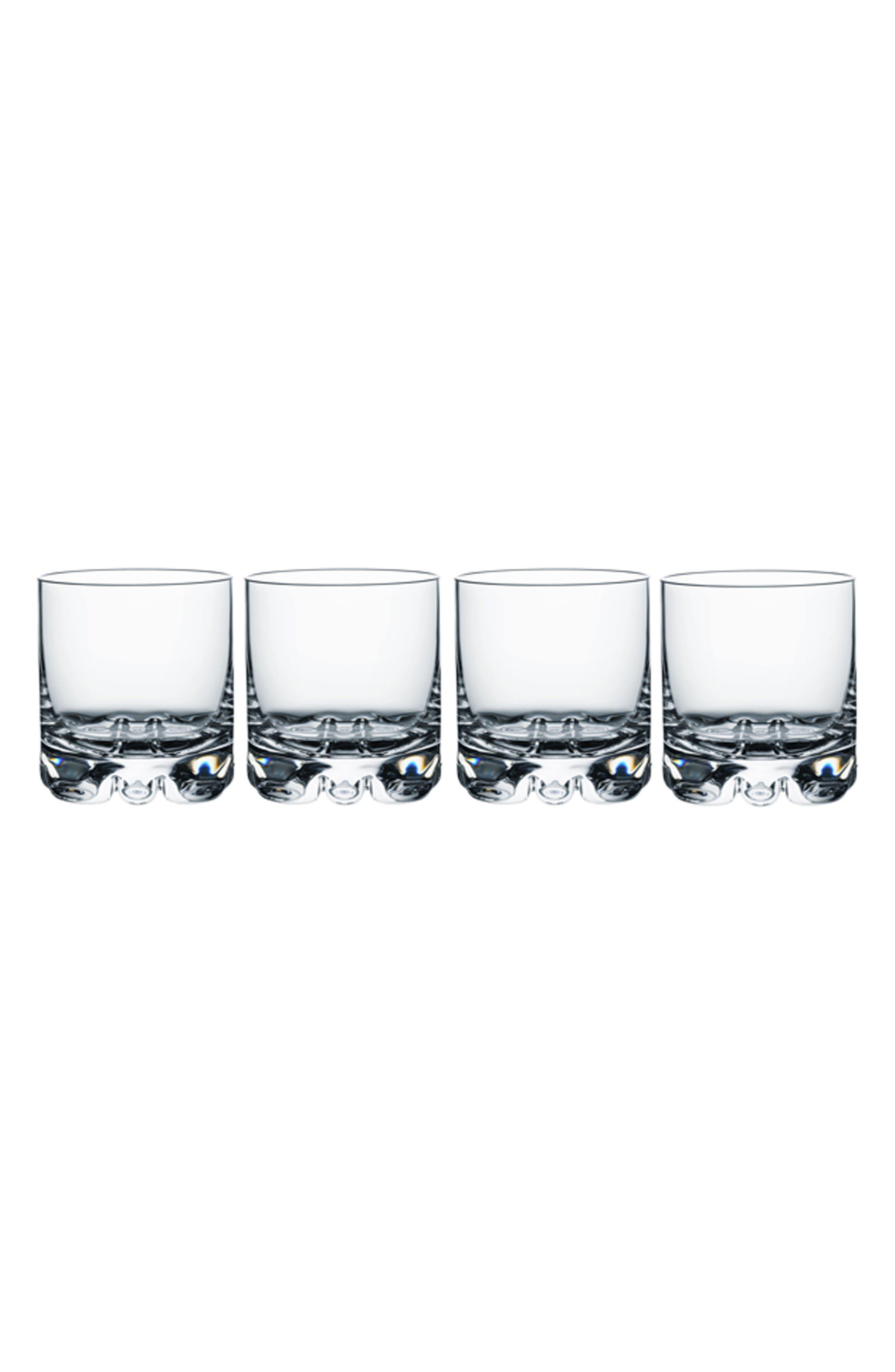 Orrefors Erik Set of 4 Old Fashioned Glasses