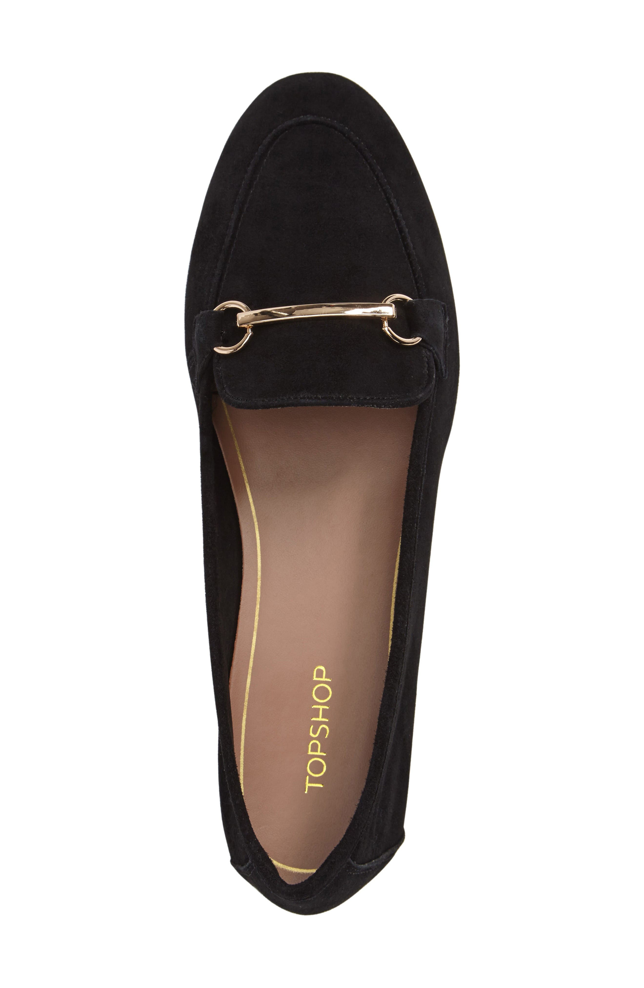 Alternate Image 3  - Topshop Libby Softy Loafer (Women)