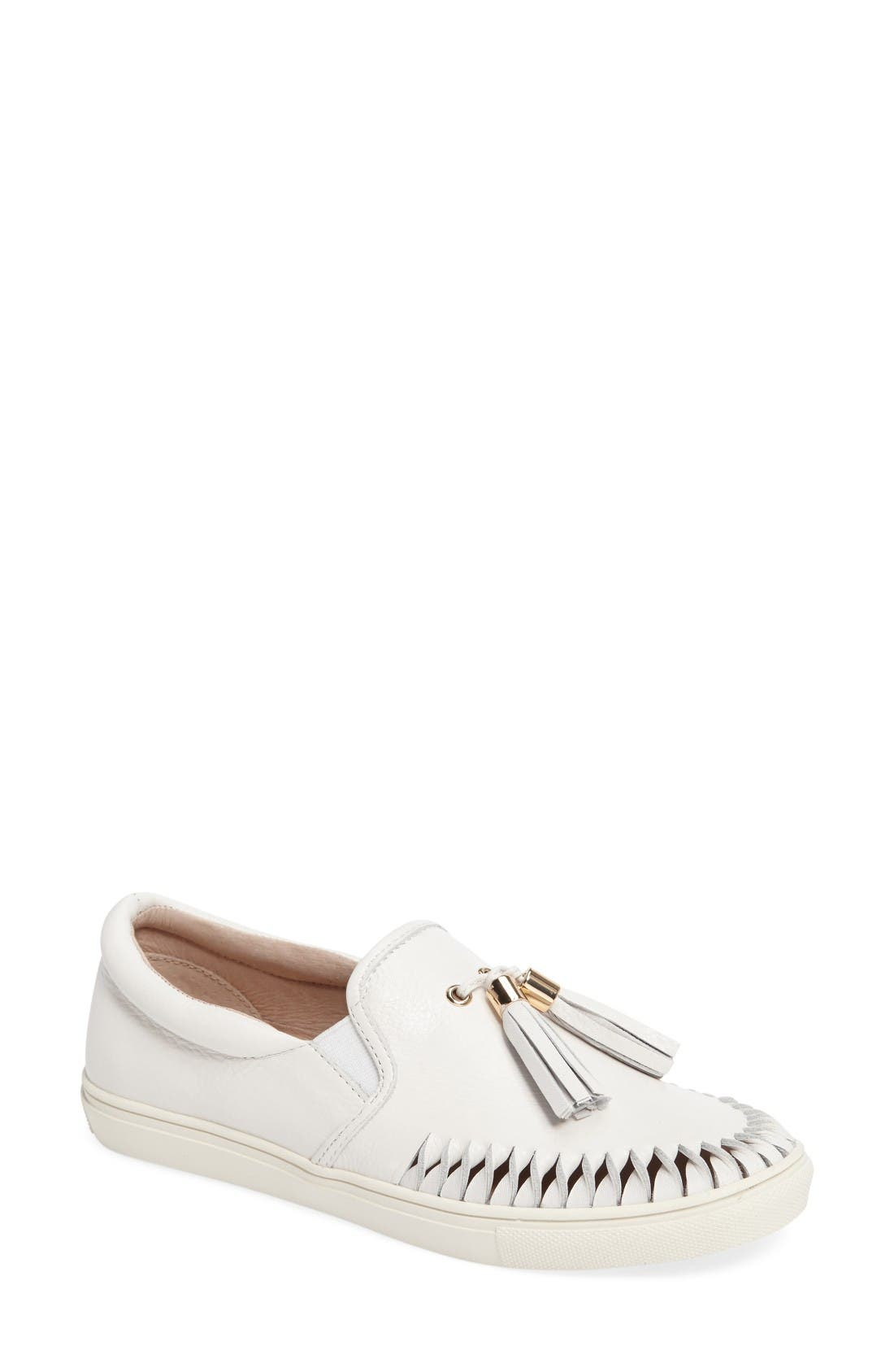 JSlides Cheyenne Tasseled Slip-On Sneaker (Women)