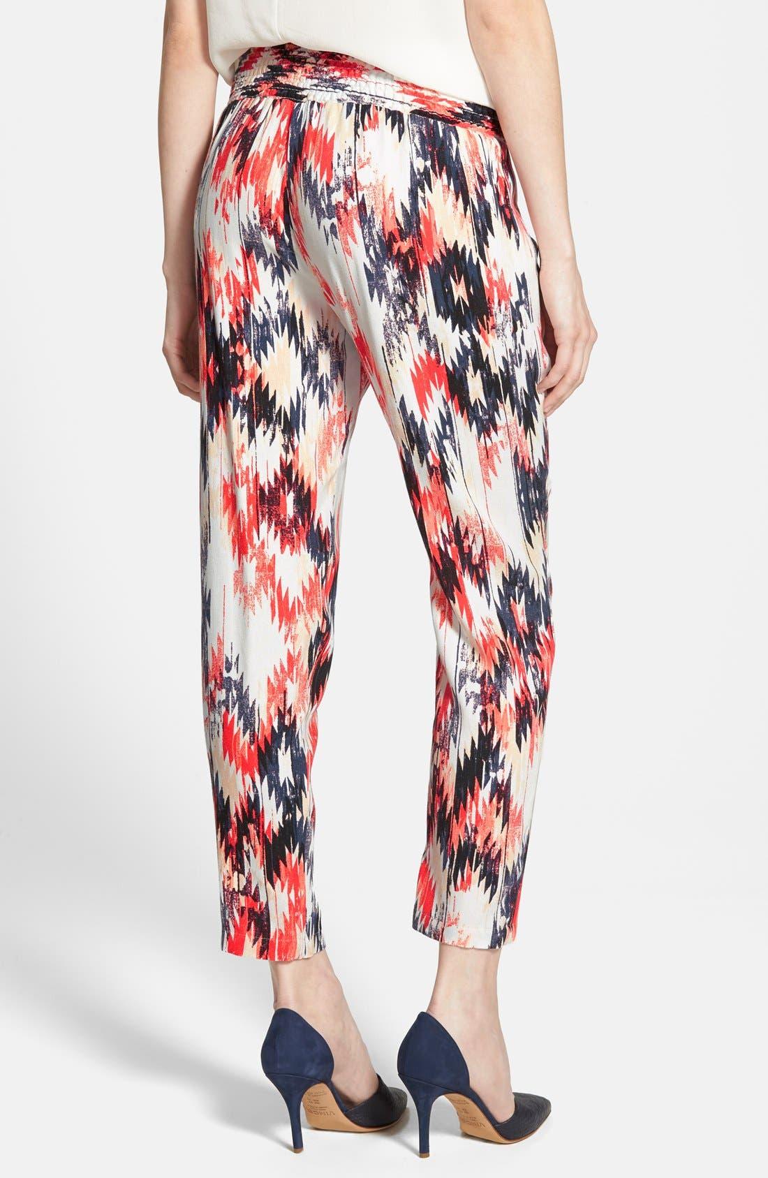 Alternate Image 2  - Ella Moss 'Zia' Print Pants