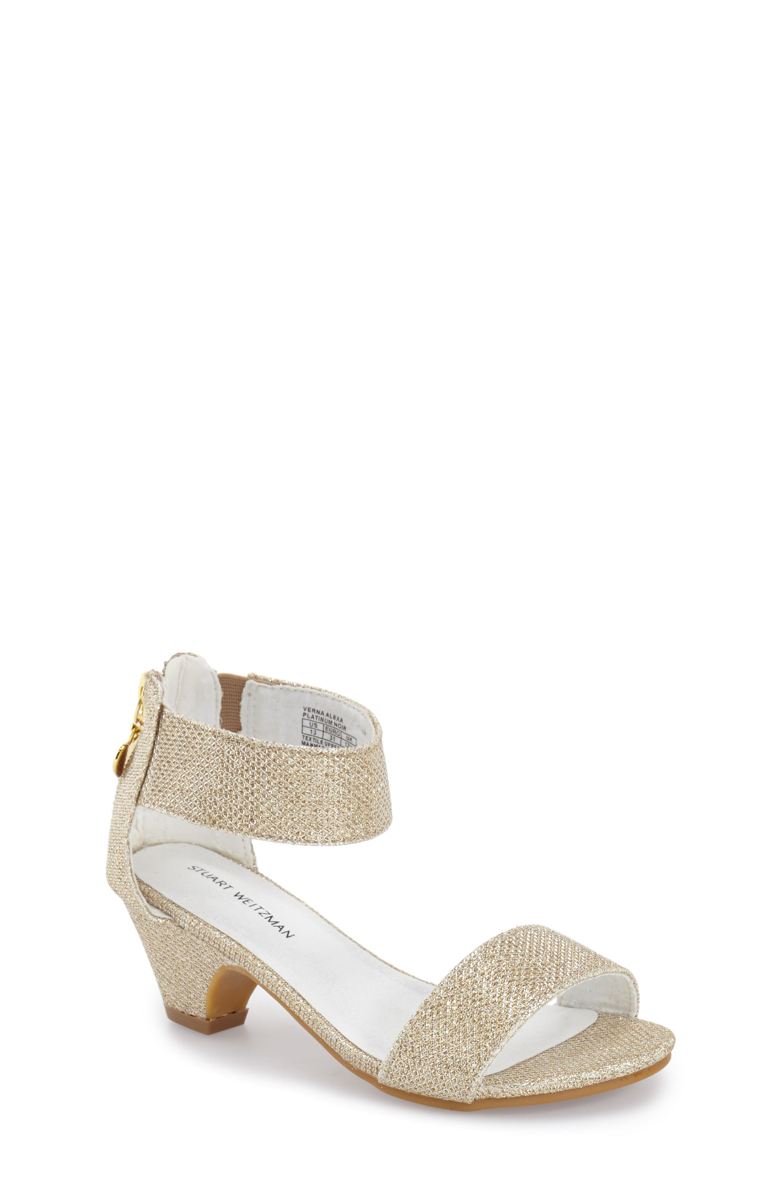 Stuart Weitzman 'Verna Alexa' Sandal (Little Kid & Big Kid)