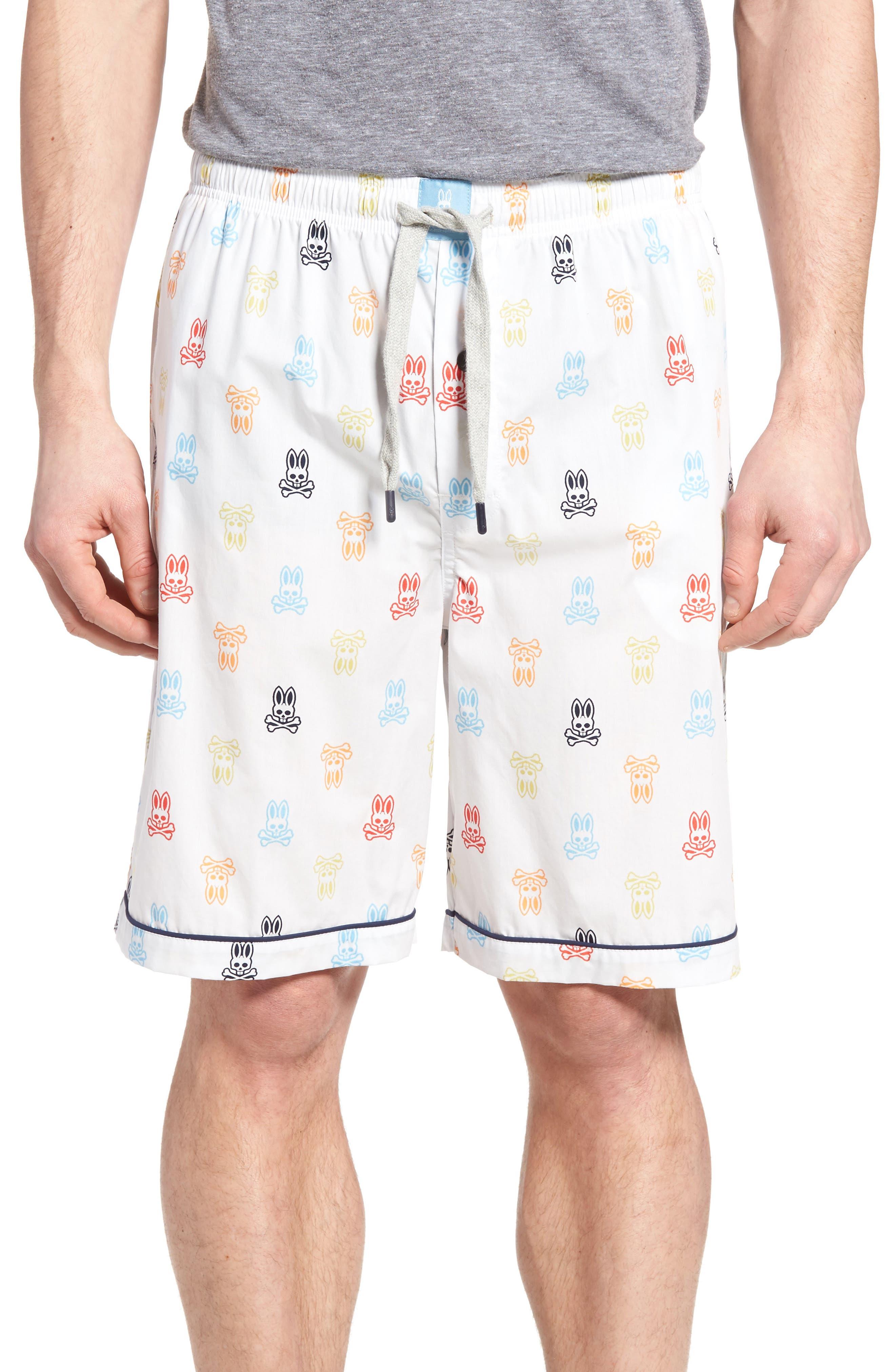 Psycho Bunny Cotton Lounge Shorts