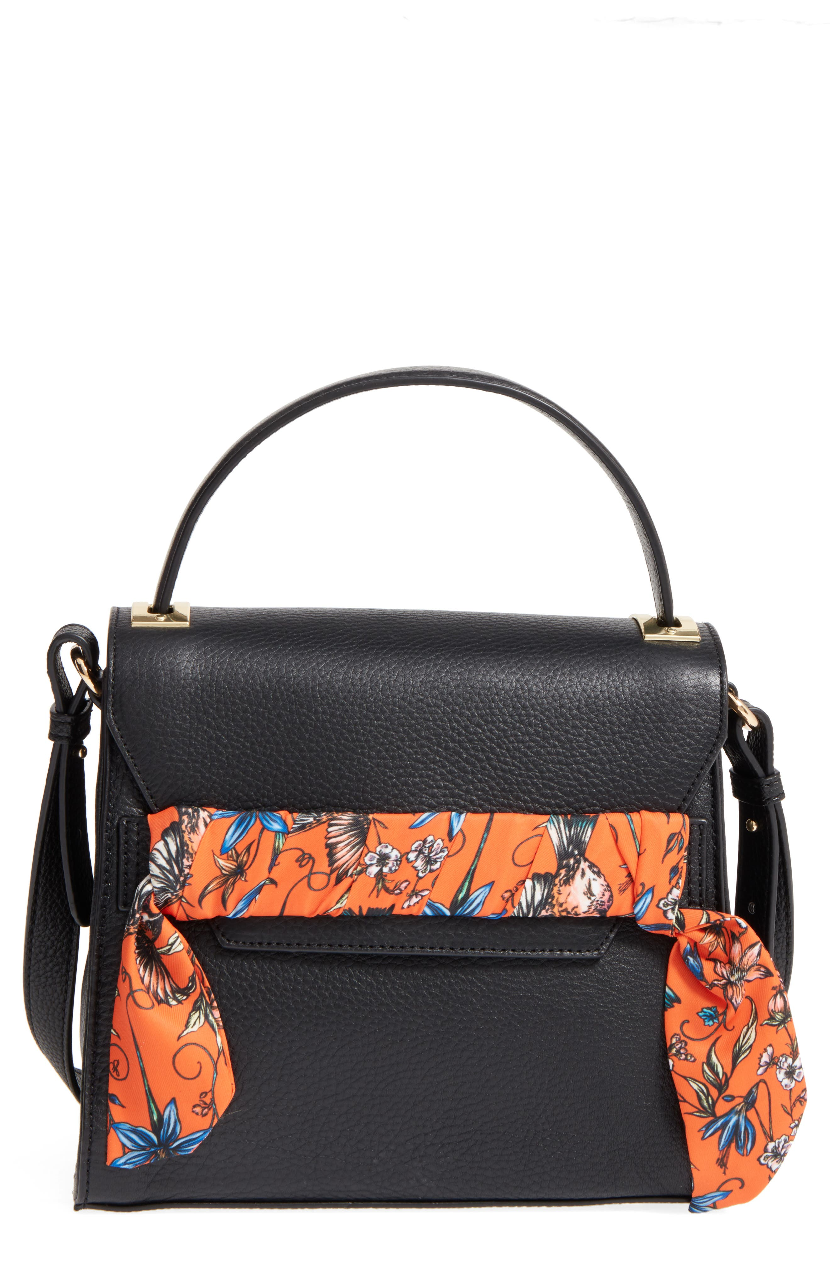 Main Image - Sam Edelman Mia Calfskin Top Handle Satchel