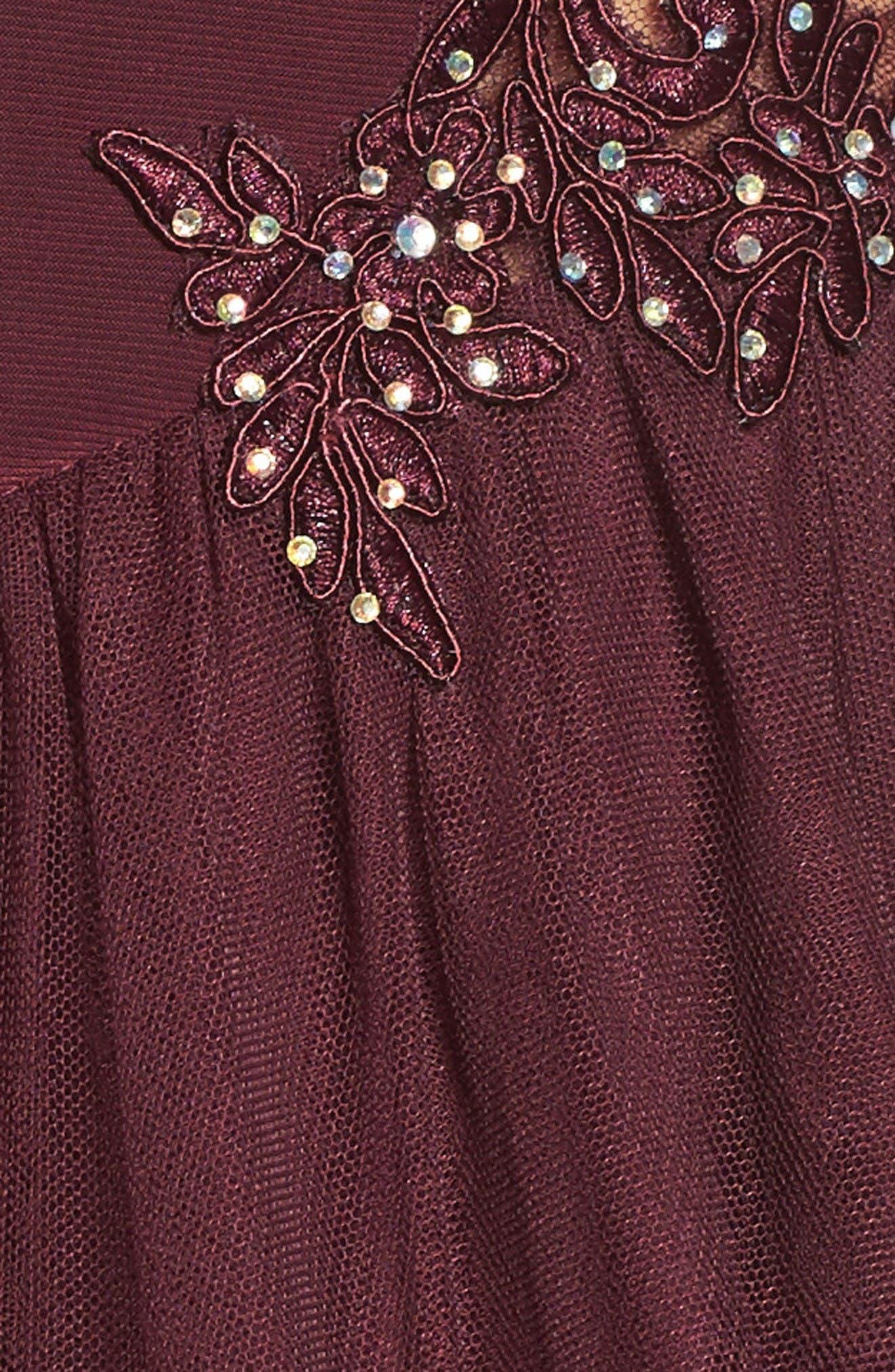Alternate Image 7  - Blondie Nites Embellished Fit & Flare Dress