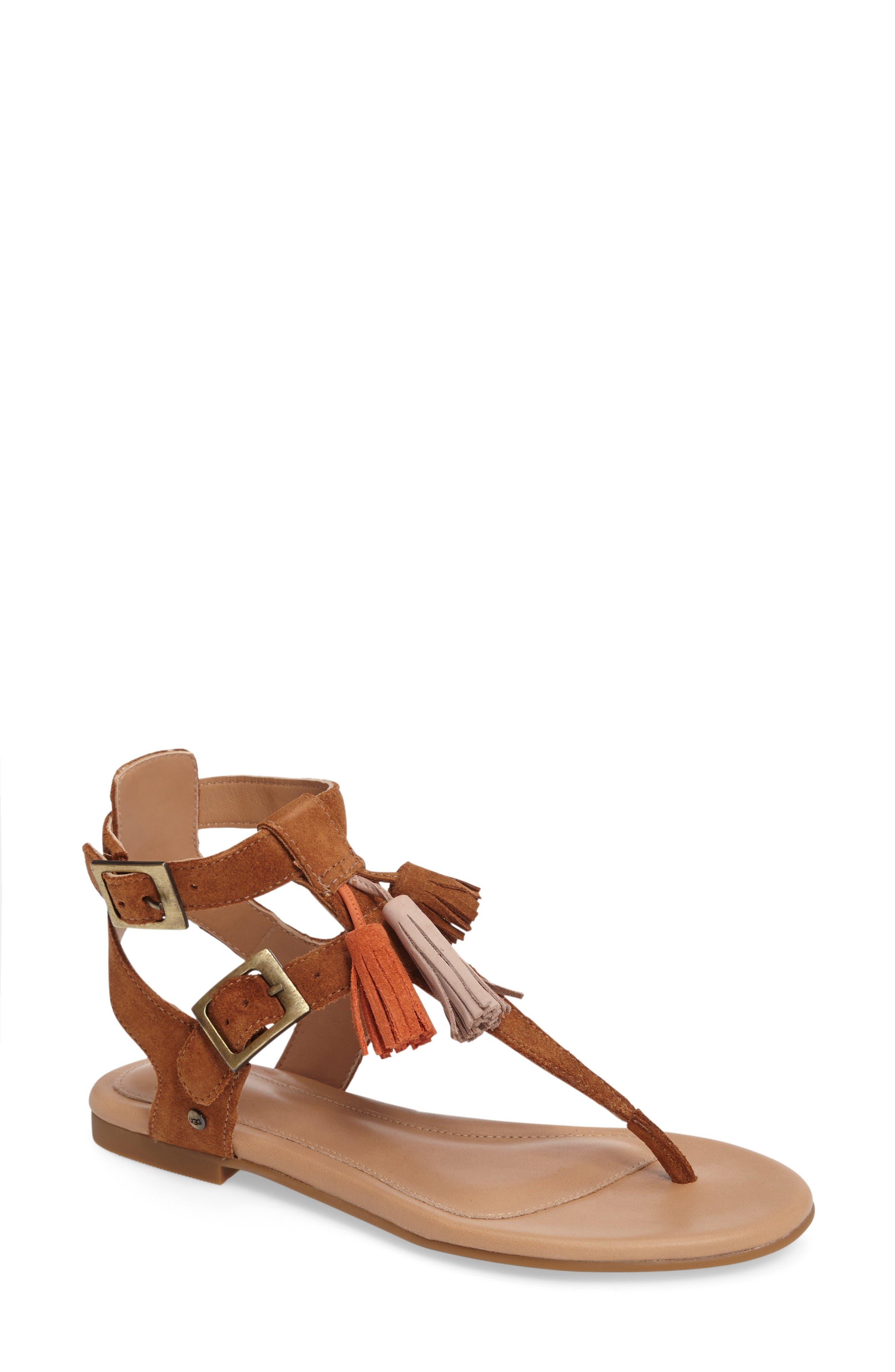 UGG® Lecia Tassel Sandal (Women)