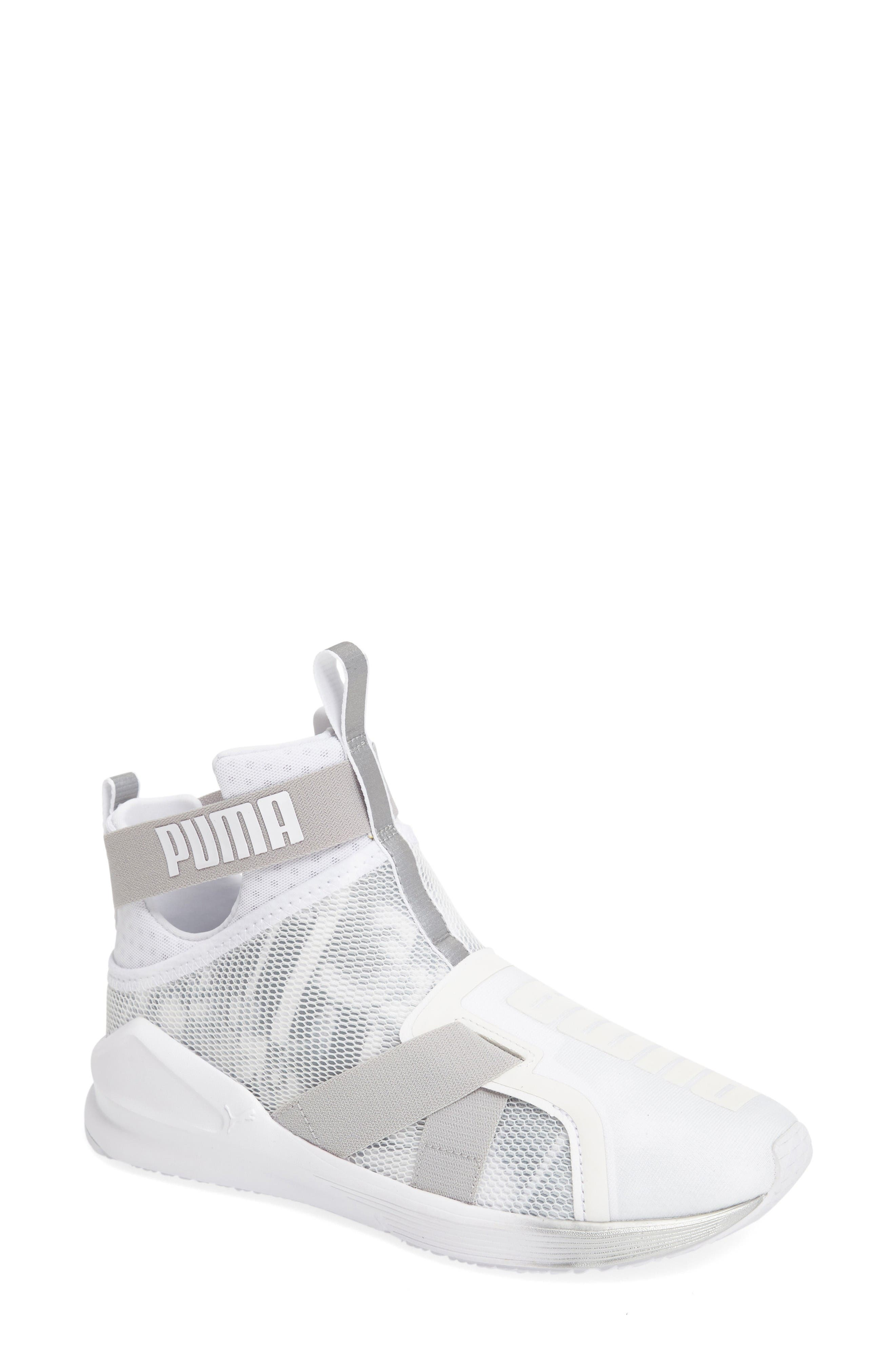 PUMA Fierce Strap Swan Training Sneaker