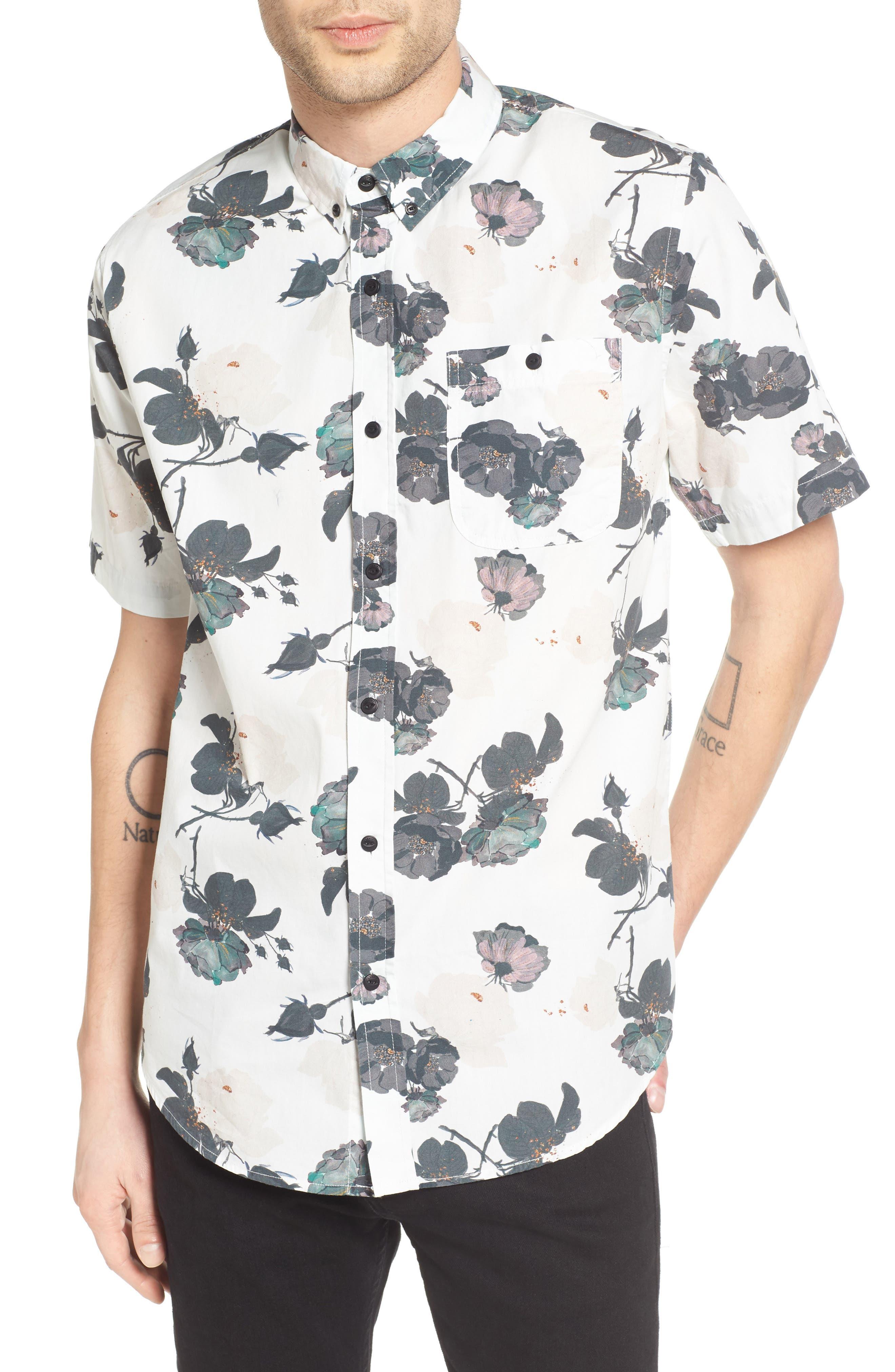 EZEKIEL Floral Print Woven Shirt