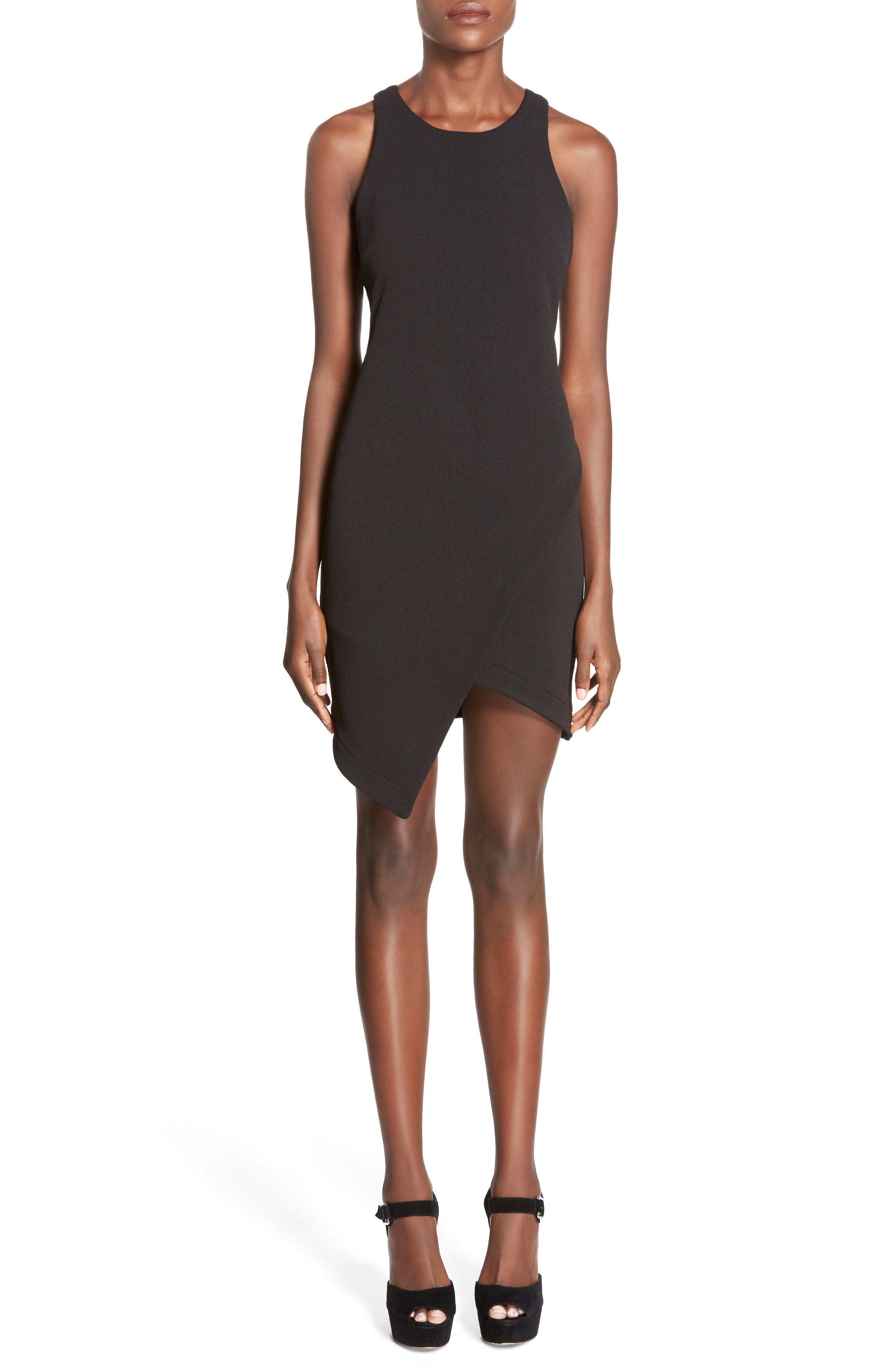 Alternate Image 1 Selected - Leith Stretch Crepe Tank Dress