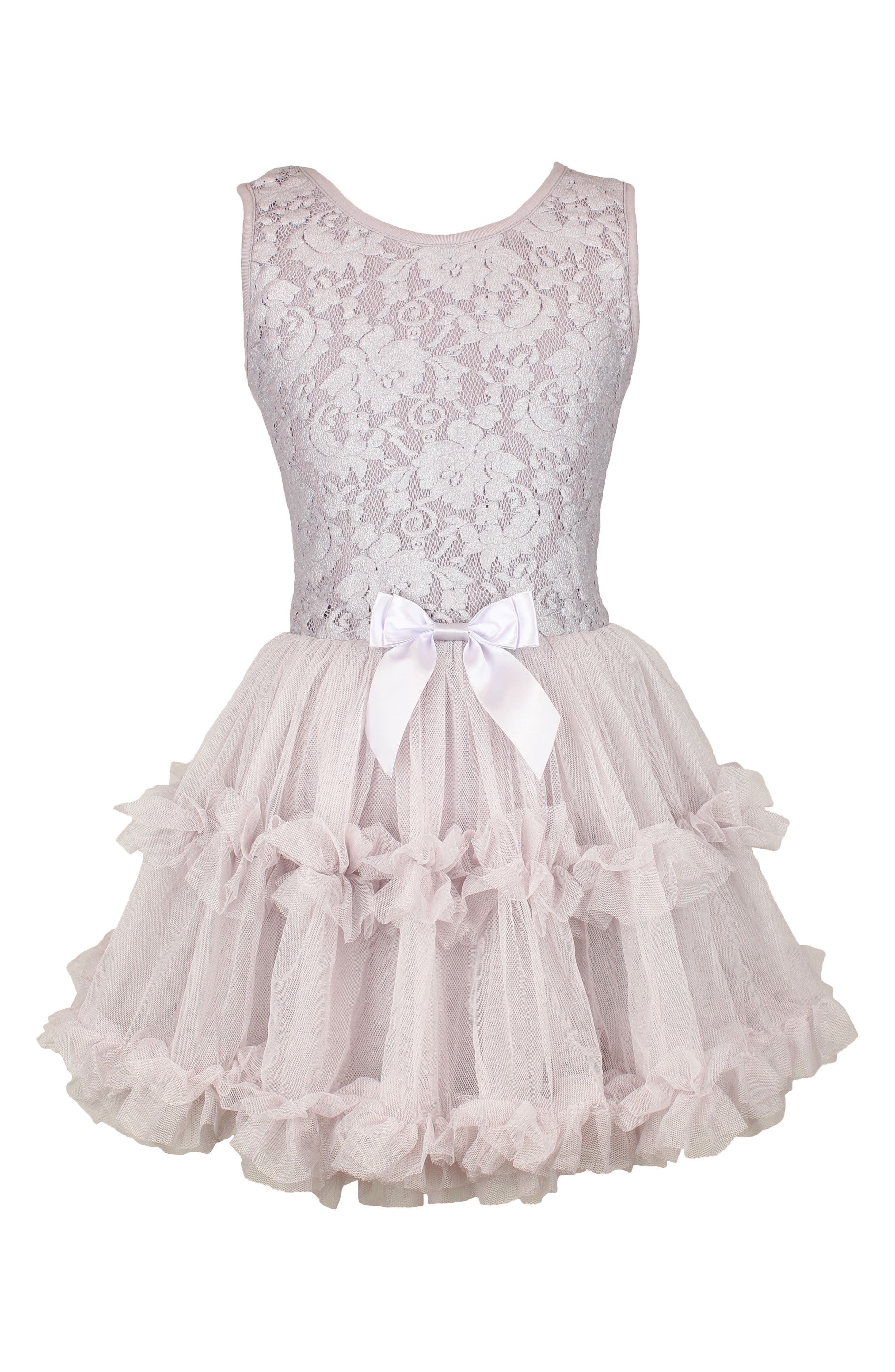 Popatu Lace & Tulle Sleeveless Dress (Little Girls & Big Girls)