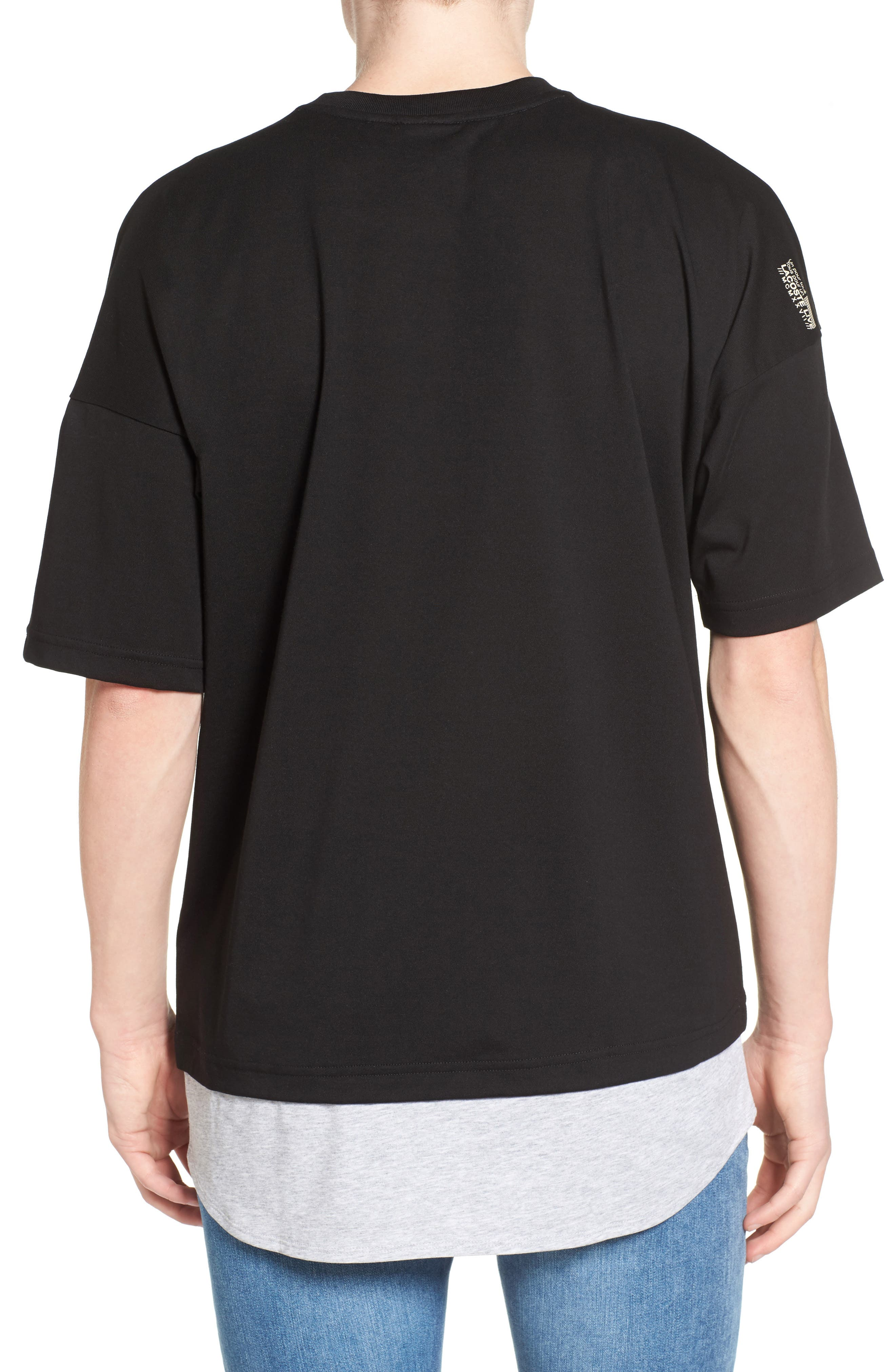 Alternate Image 2  - Lacoste L!VE Mock Layer T-Shirt