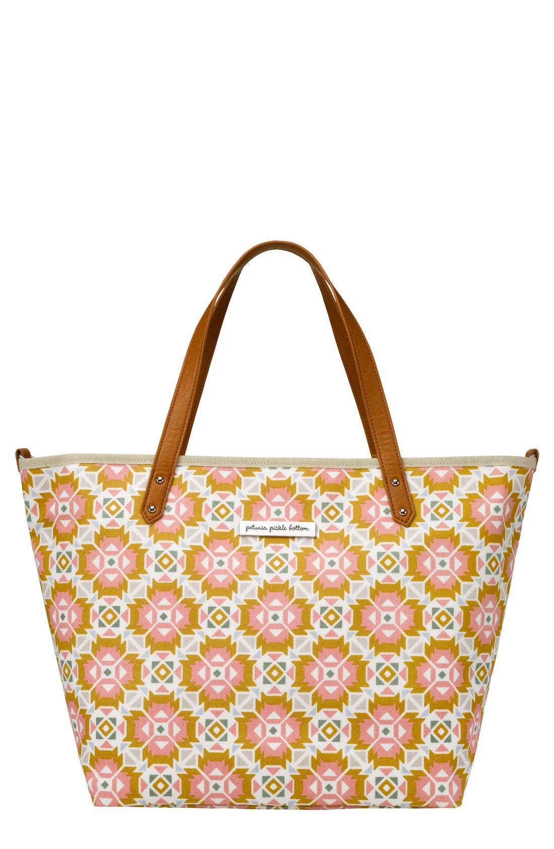 Main Image - Petunia Pickle Bottom 'Downtown' Glazed Canvas Tote