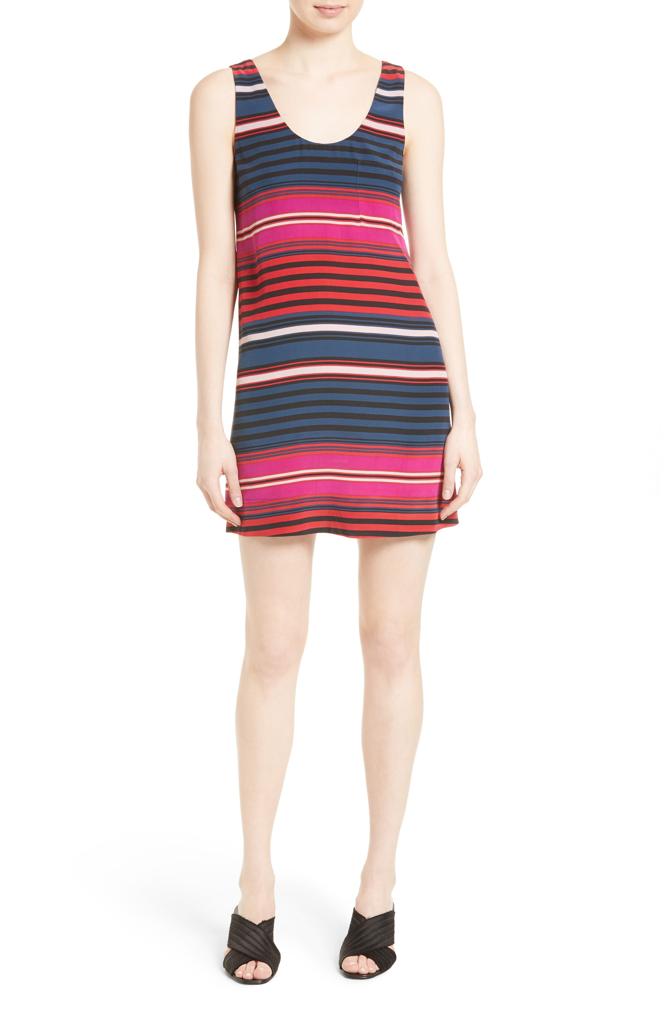 Joie Dawna Silk Tank Dress
