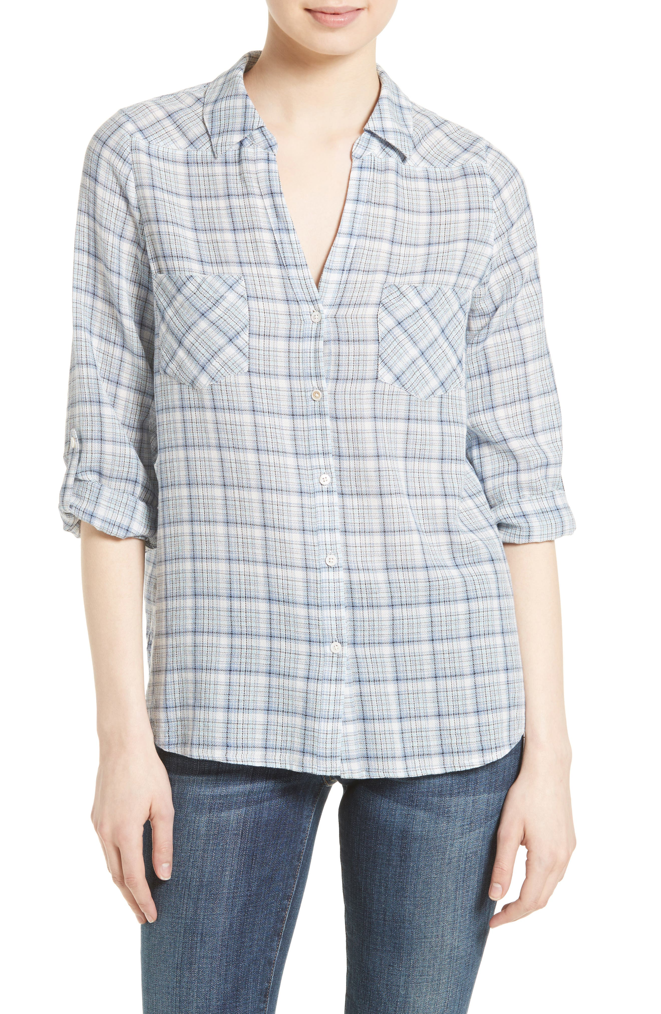Joie Blas Plaid Shirt