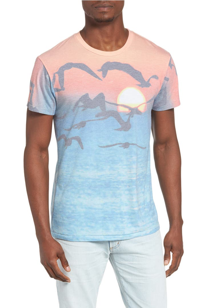 Sol angeles playa del sol print t shirt nordstrom for T shirt printing downtown los angeles