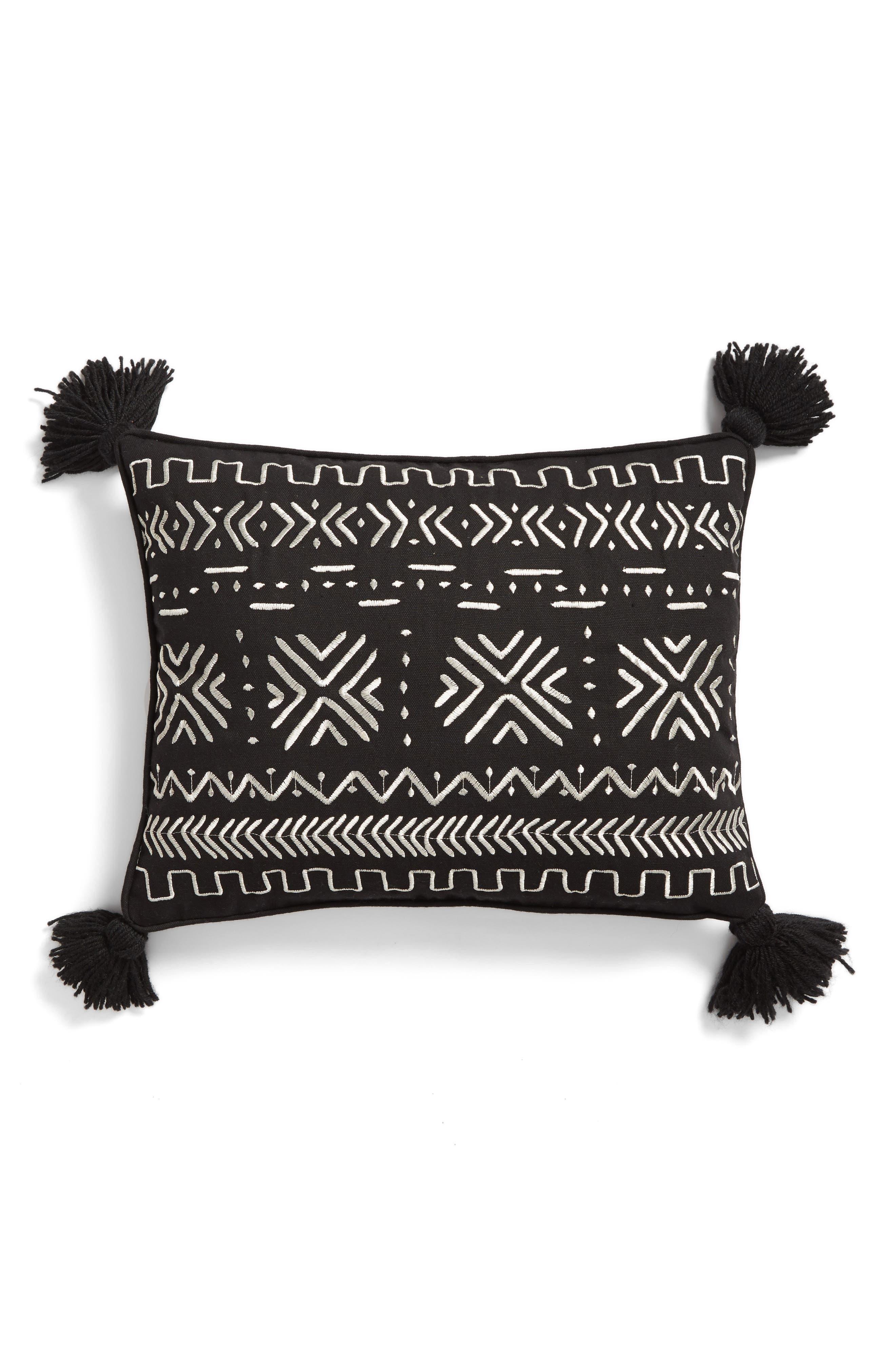 Levtex Zira Embroidered Pillow