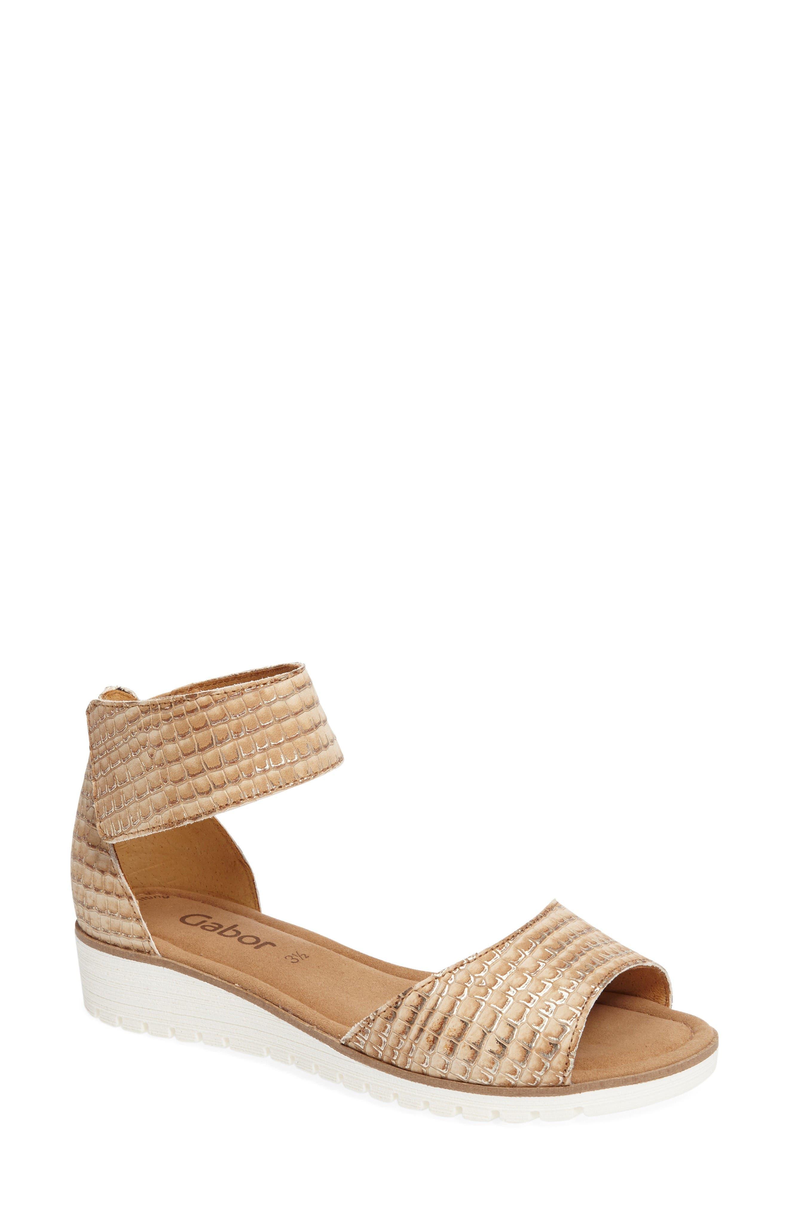 Gabor Two-Strap Sandal (Women)