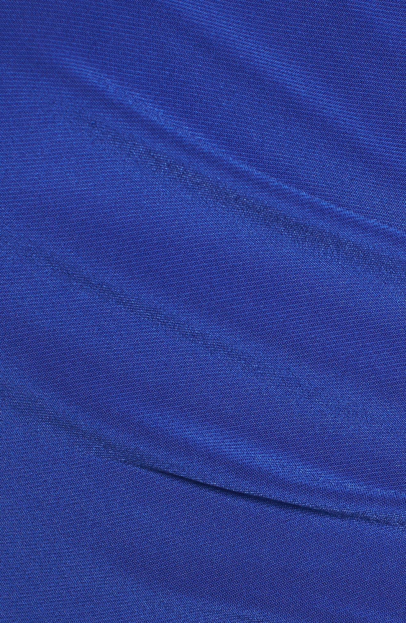 Alternate Image 5  - Chaus Faux Wrap Midi Dress
