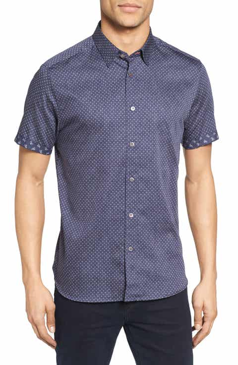 Men 39 s casual button downs sale nordstrom for Mens button down sport shirts