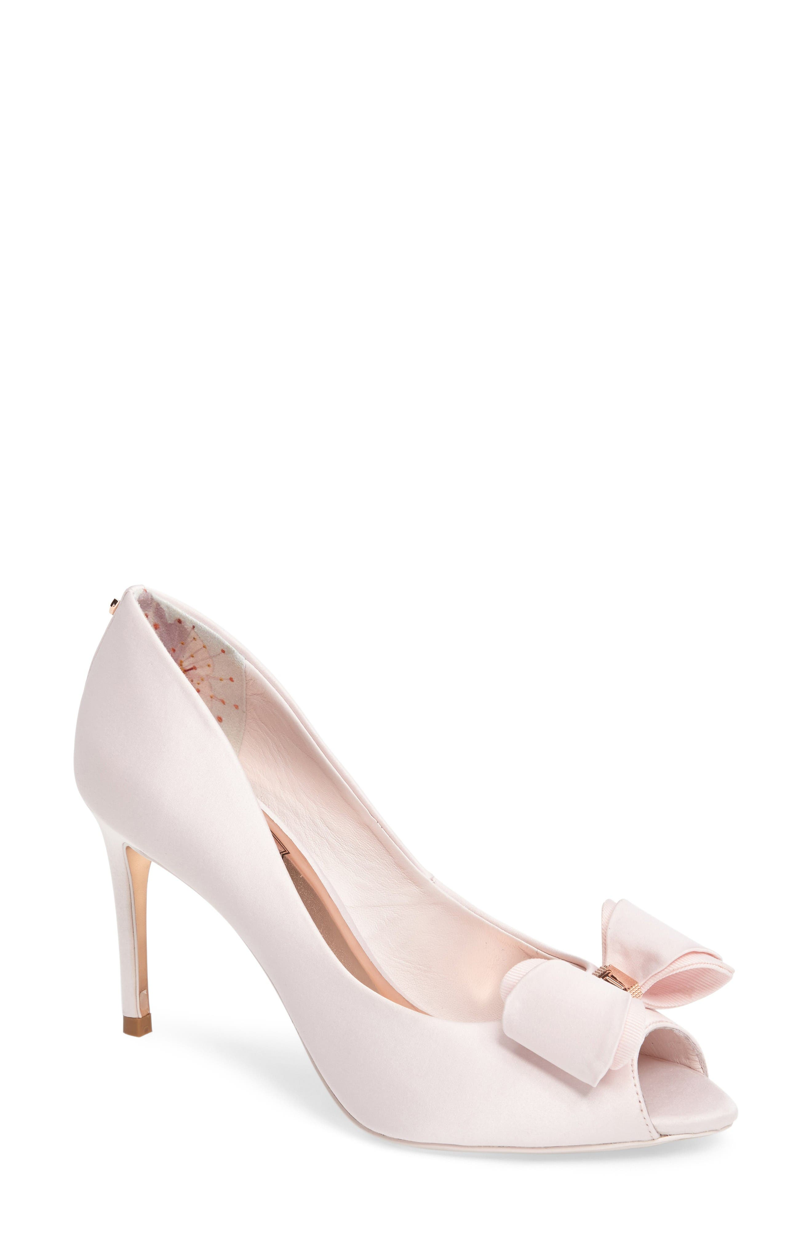 Ted Baker London Alifair Open Toe Pump (Women)