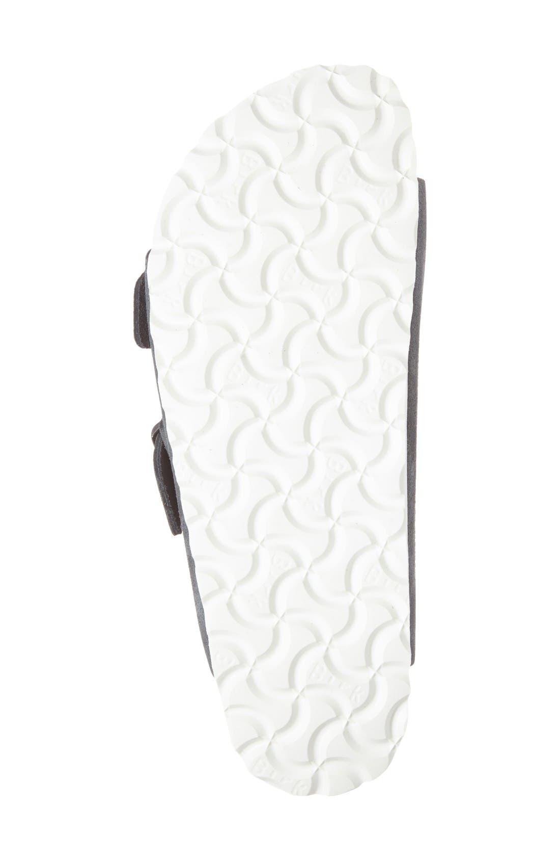 Alternate Image 4  - Birkenstock Arizona Birko-Flor Soft Footbed Slide Sandal (Women)