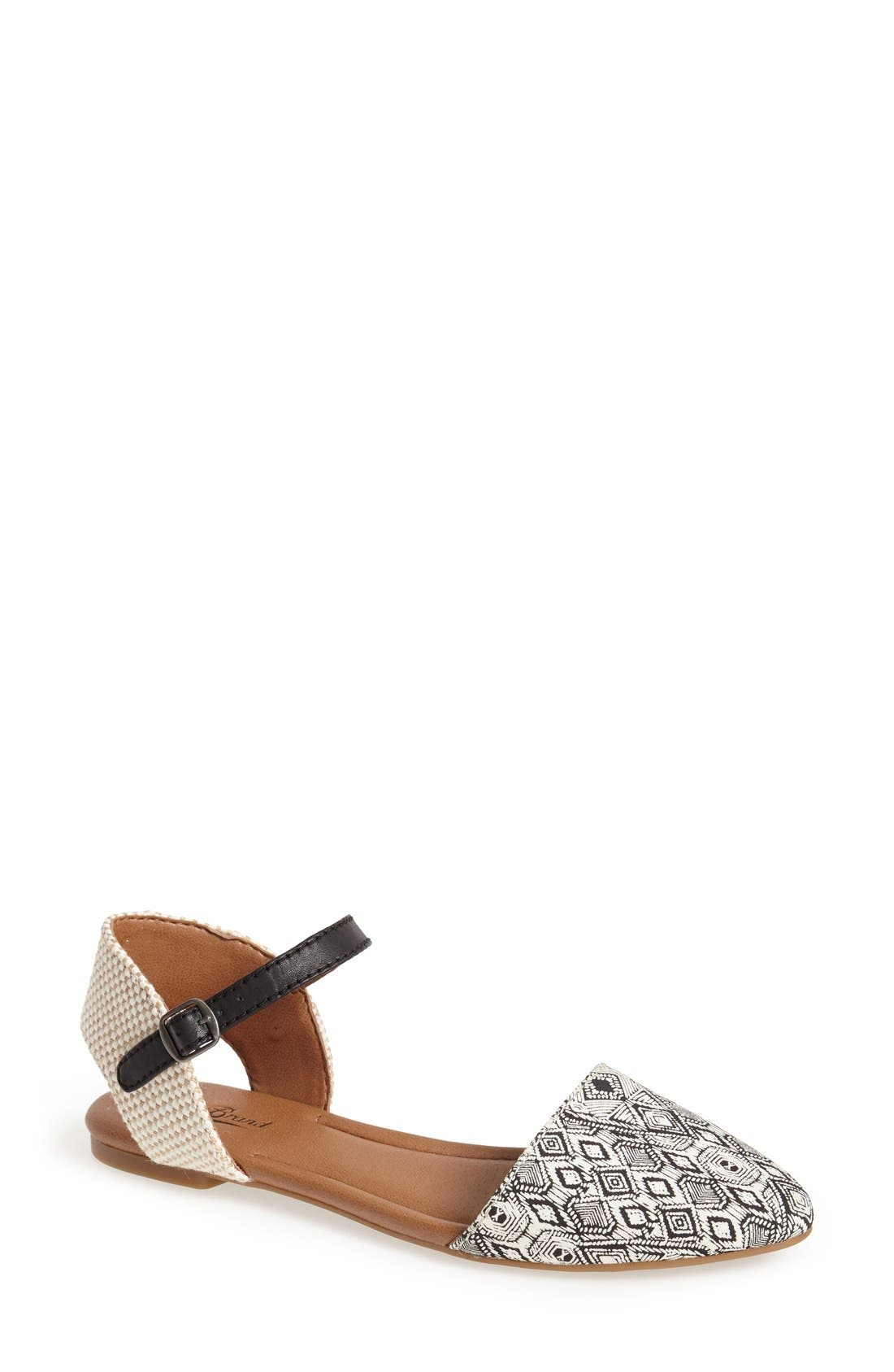 Alternate Image 1 Selected - Lucky Brand 'Abbee' d'Orsay Flat