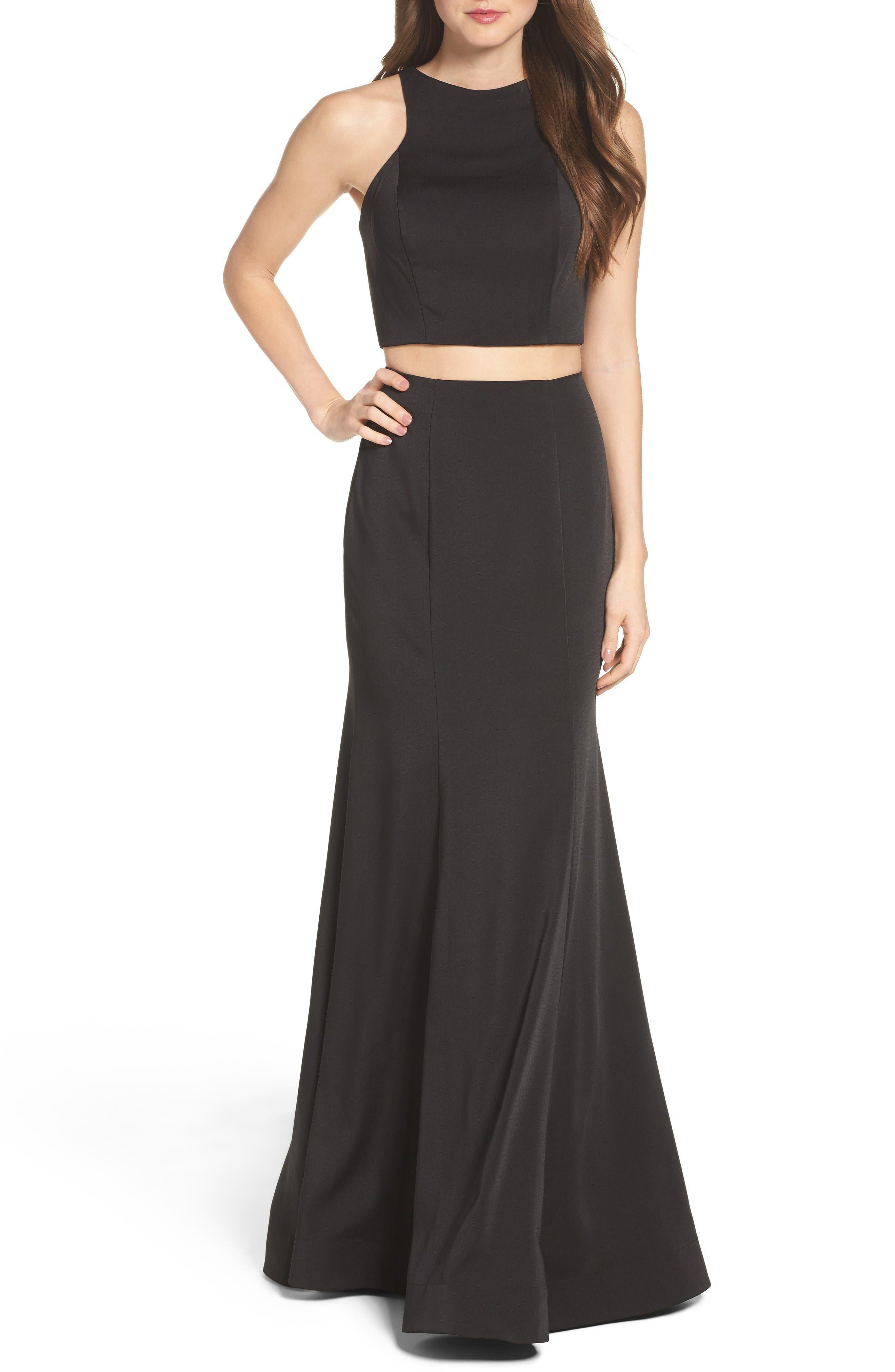 La Femme Two-Piece Gown